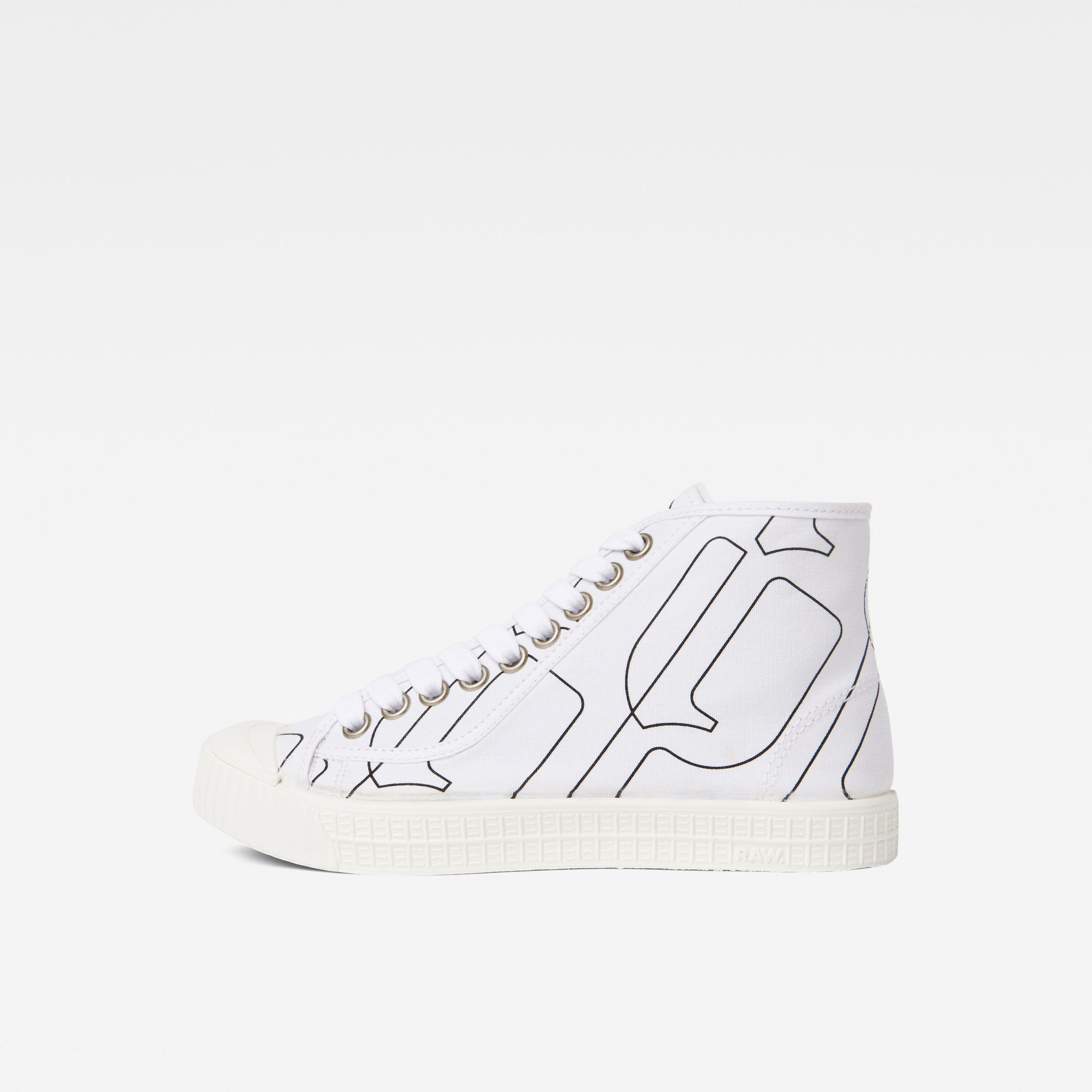 Image of G Star Raw Rovulc Pattern Mid Sneakers