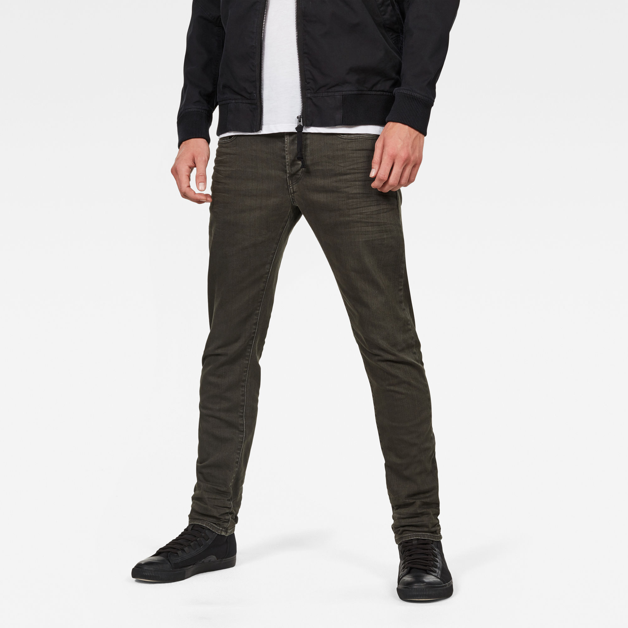 Image of G Star Raw 3301 Deconstructed Slim Colored Jeans