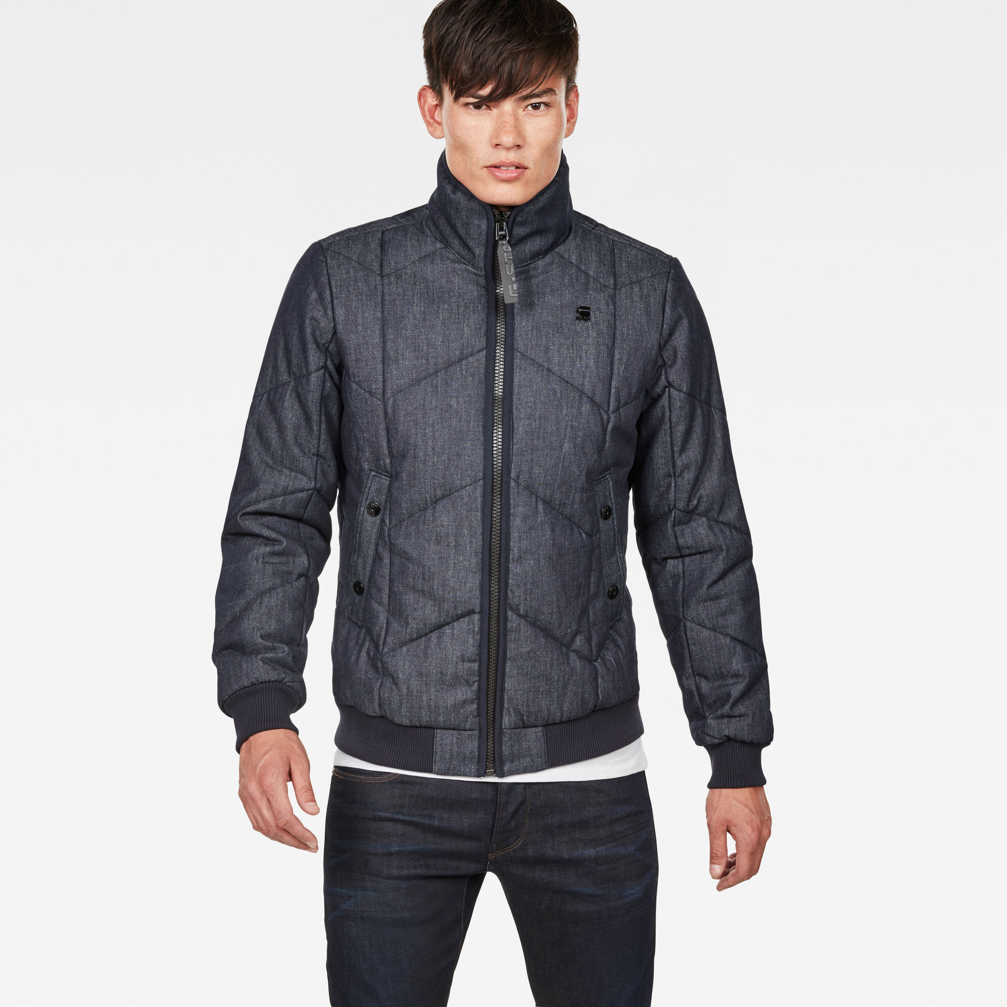 Image of G Star Raw Whistler Meefic Quilted Bomber