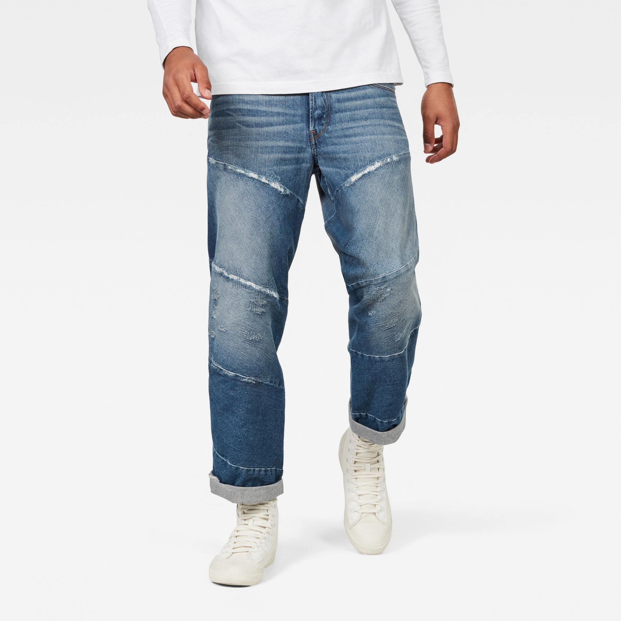 Image of G Star Raw Spiraq 3D Relaxed Jeans