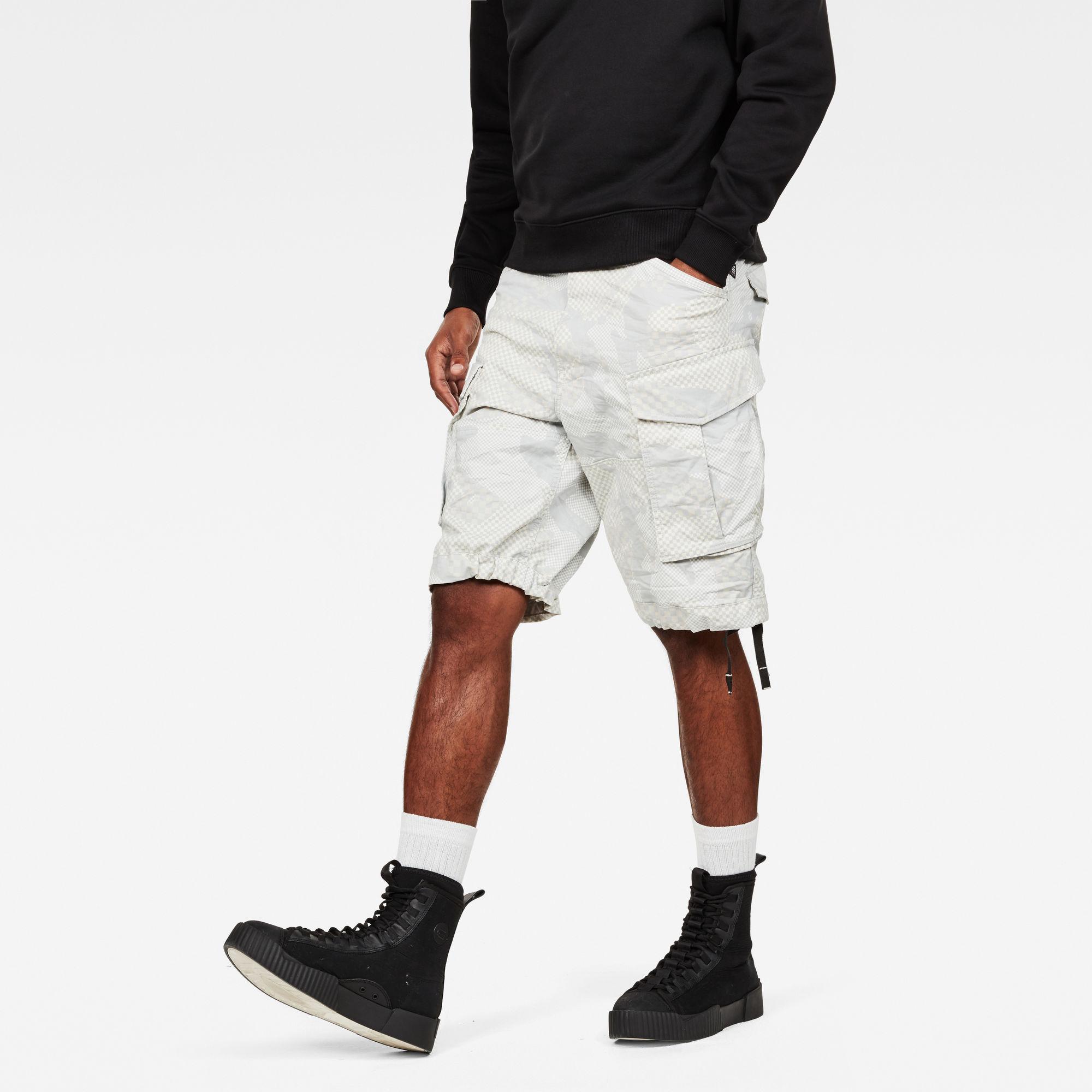 Rovic Qane Relaxed 1 2 Length Shorts