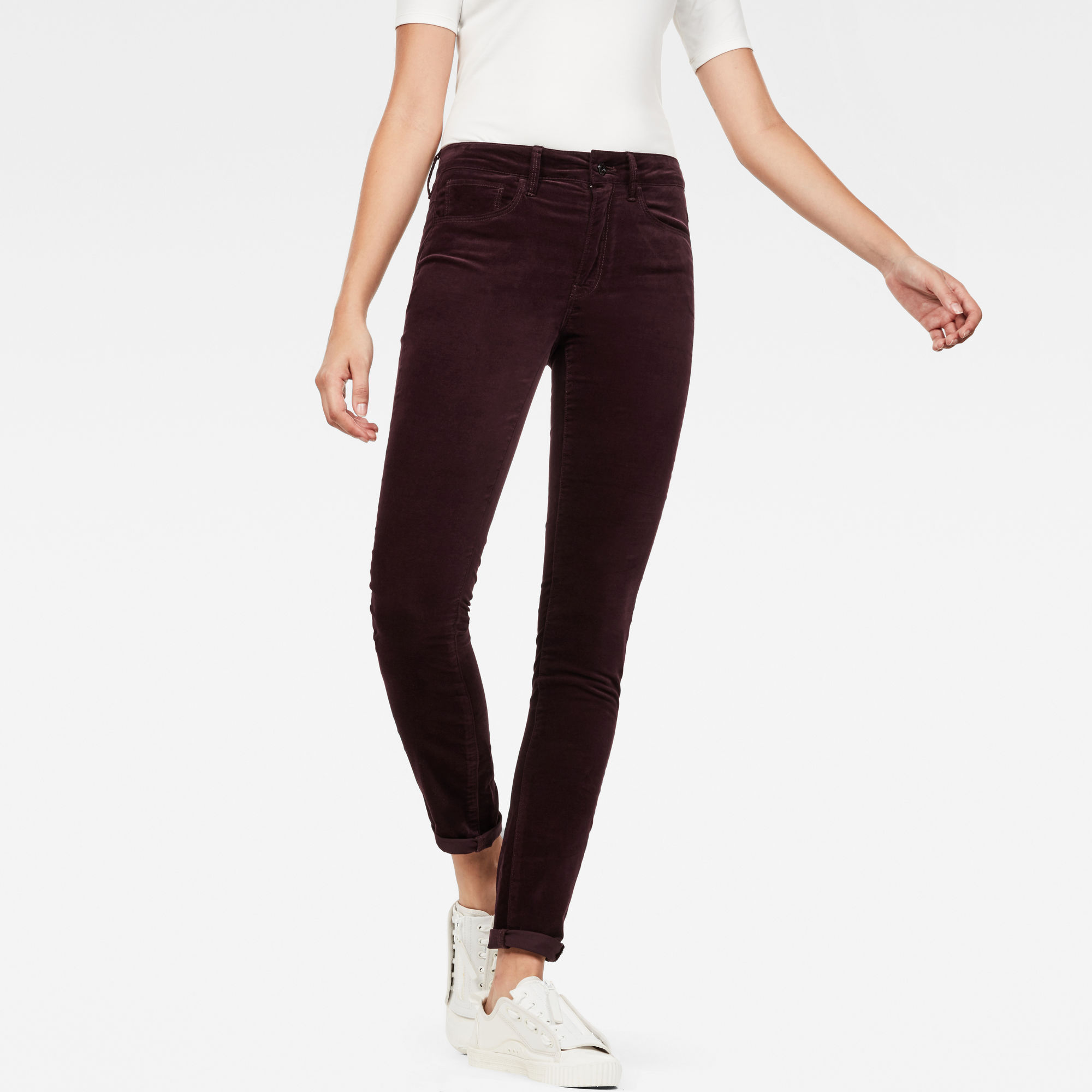 Image of 3301 High Waist Skinny Colored Jeans