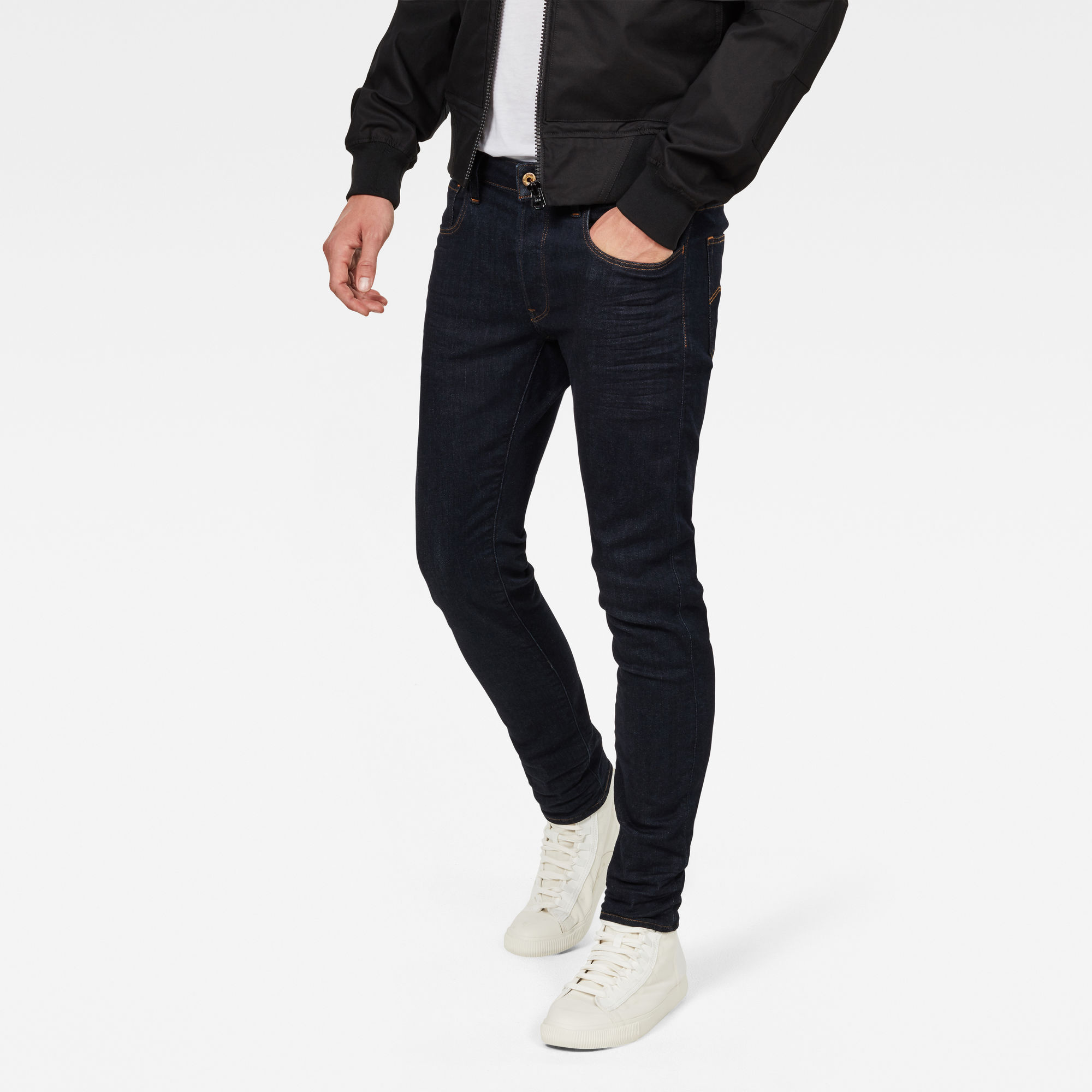 Image of 3301 Deconstructed Slim Jeans