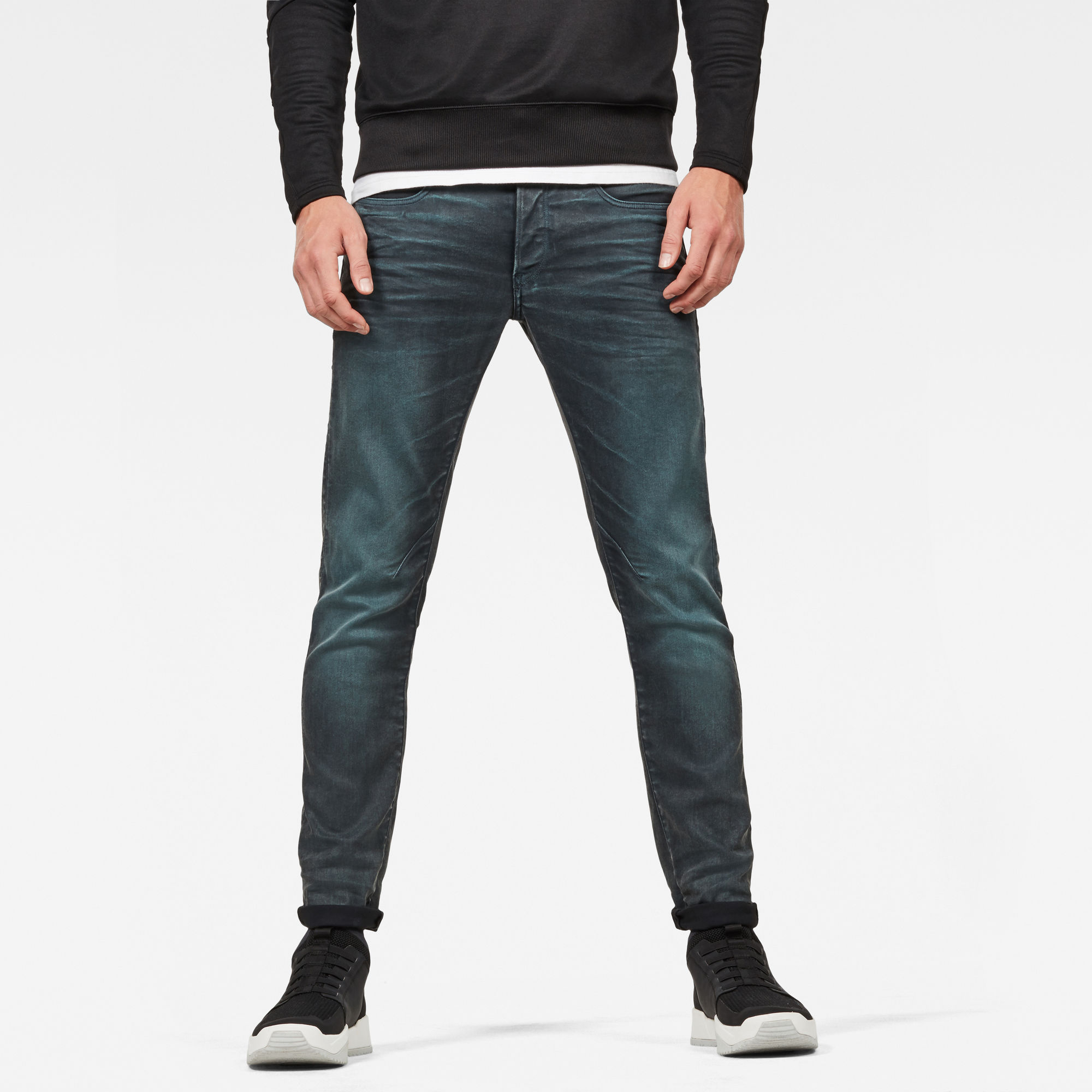 Image of G Star Raw D-Staq 5-Pocket Slim Colored Jeans