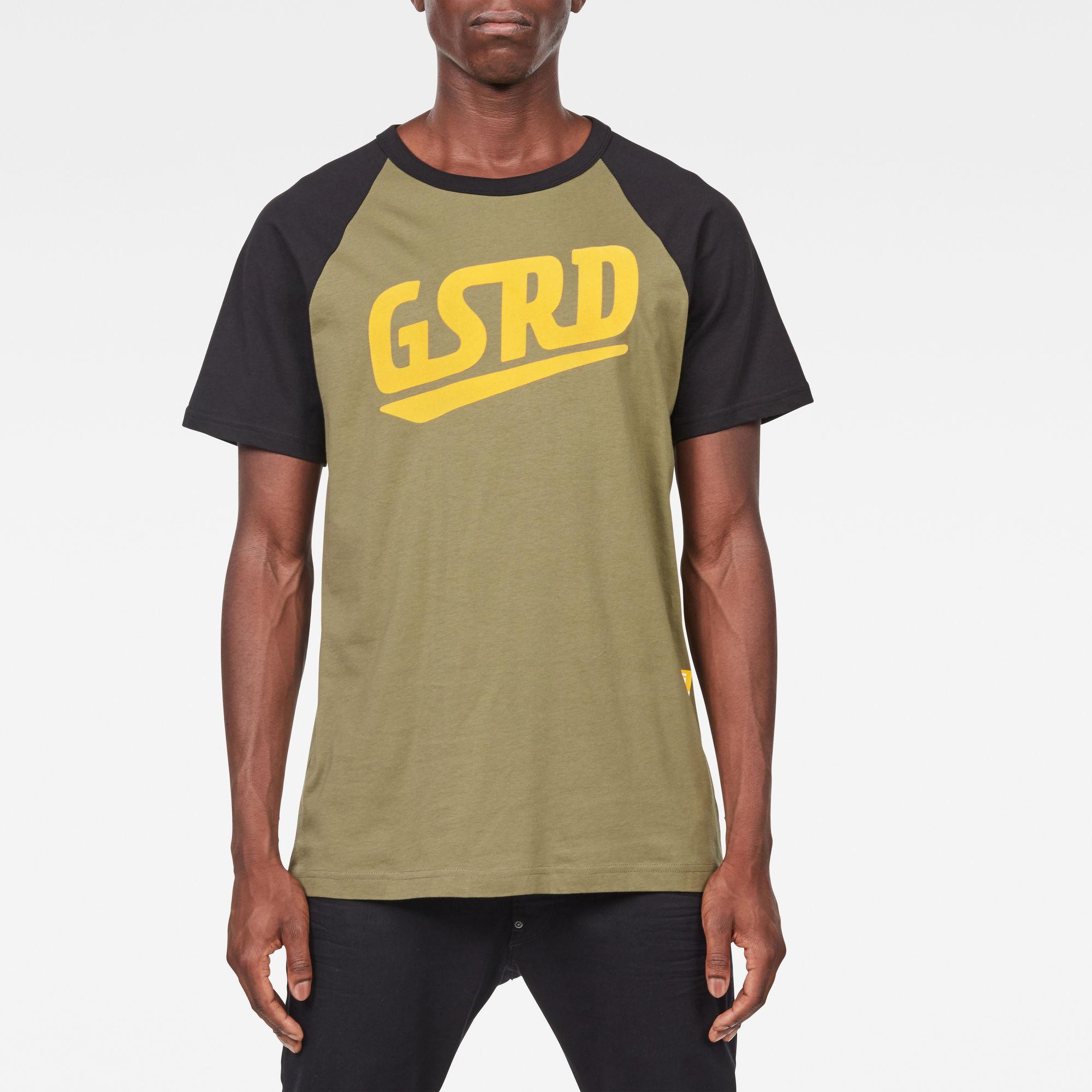 Image of G Star Raw Buckston Raglan T-Shirt