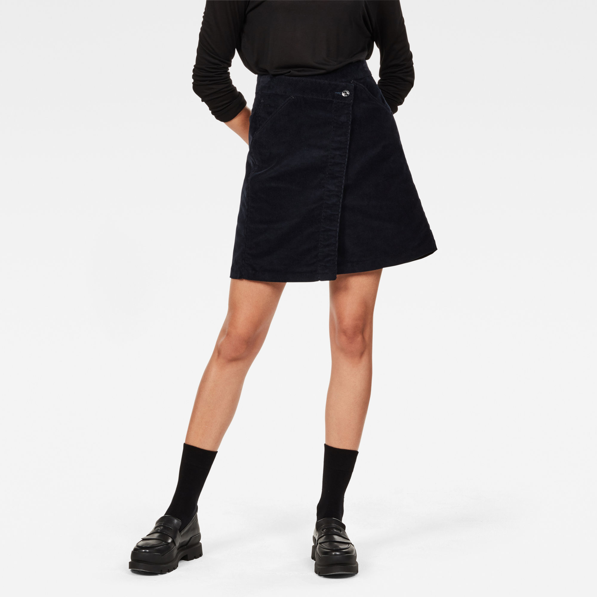Image of G Star Raw 5621 Wrap Skirt