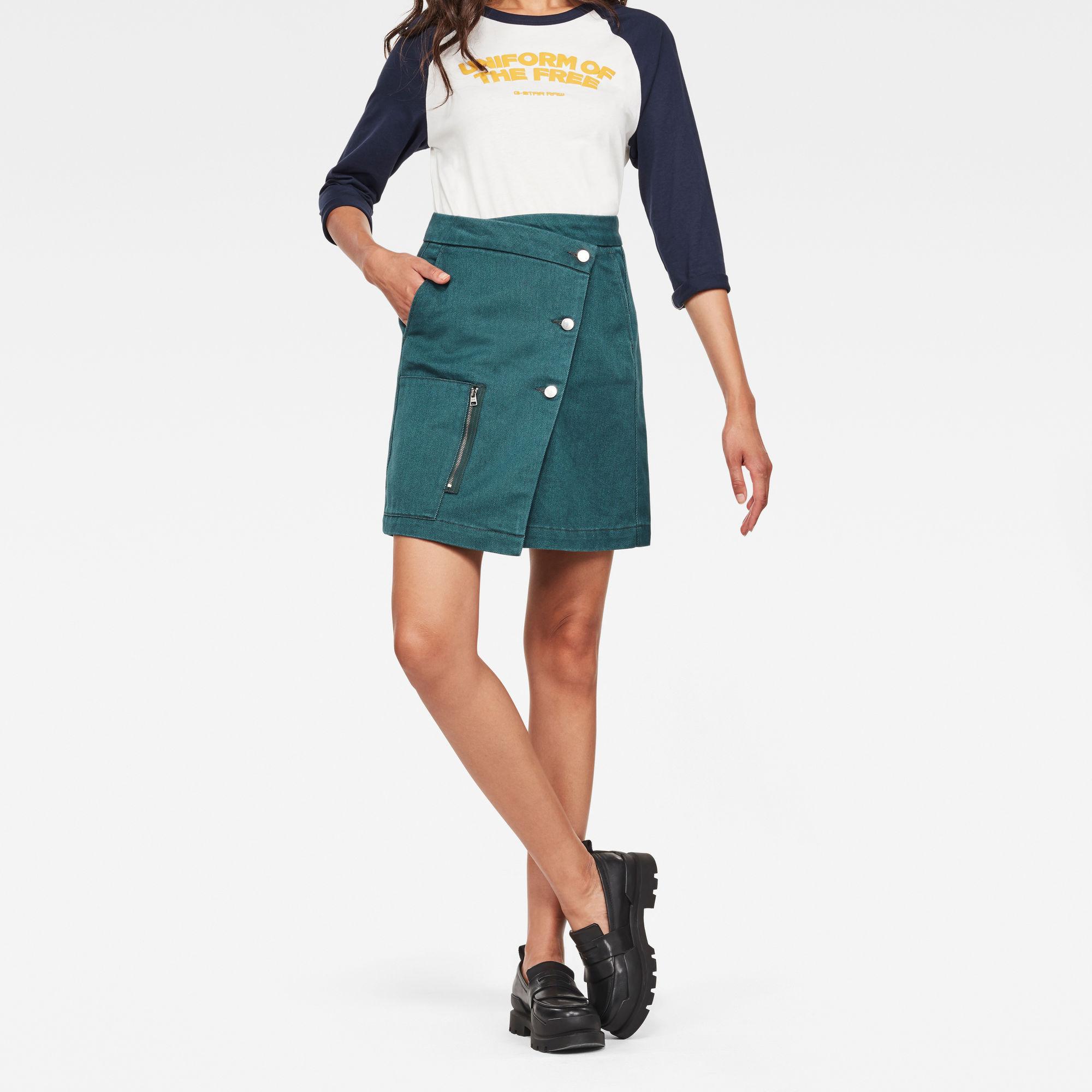 Image of G Star Raw Powel Wrap Skirt