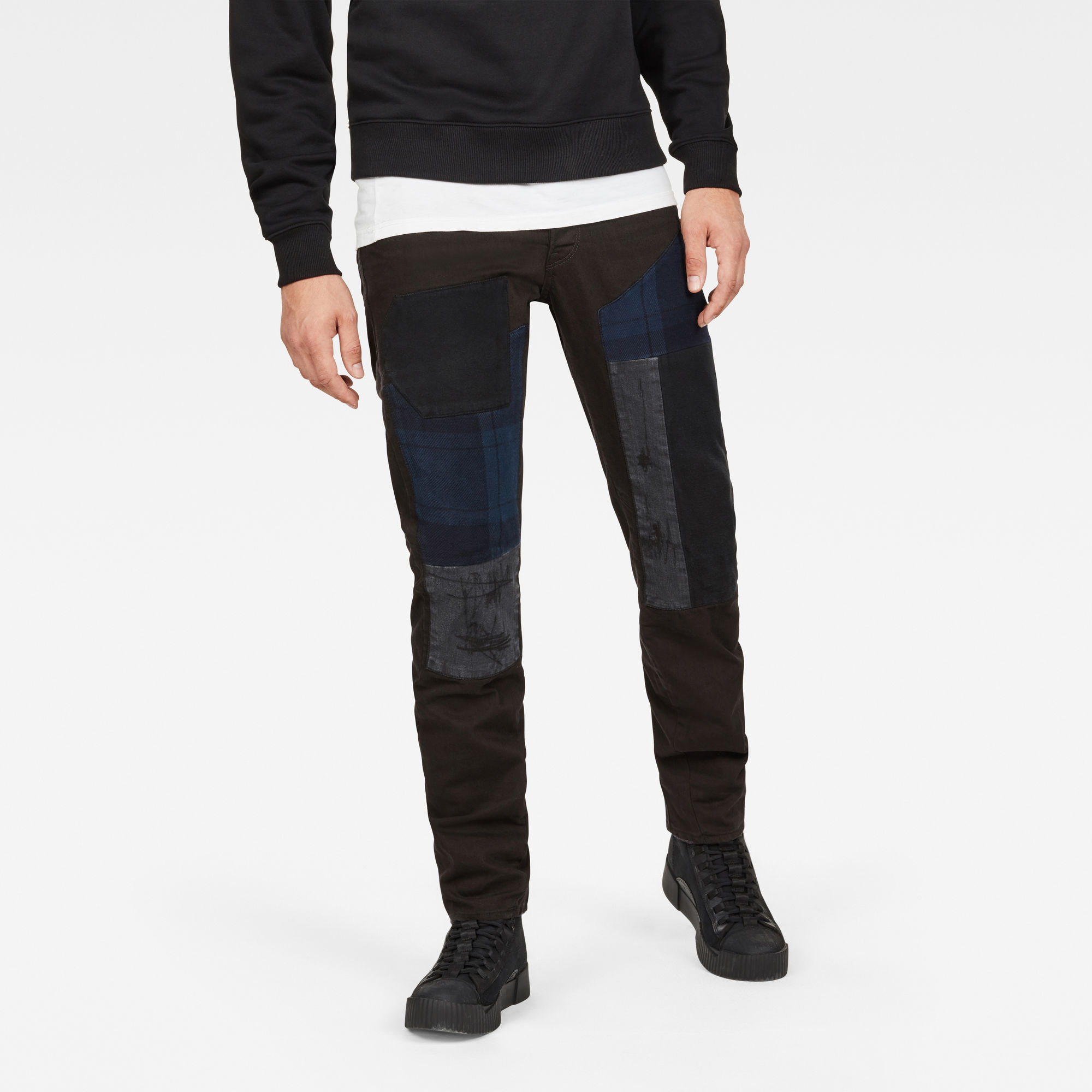 Image of G Star Raw Arc 3D Relaxed Tapered Denim Journeys Jeans