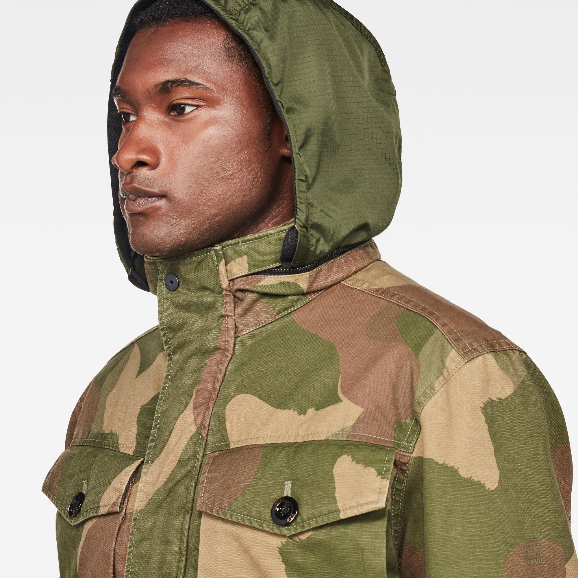 Vodan Teddy Padded Field Jacket