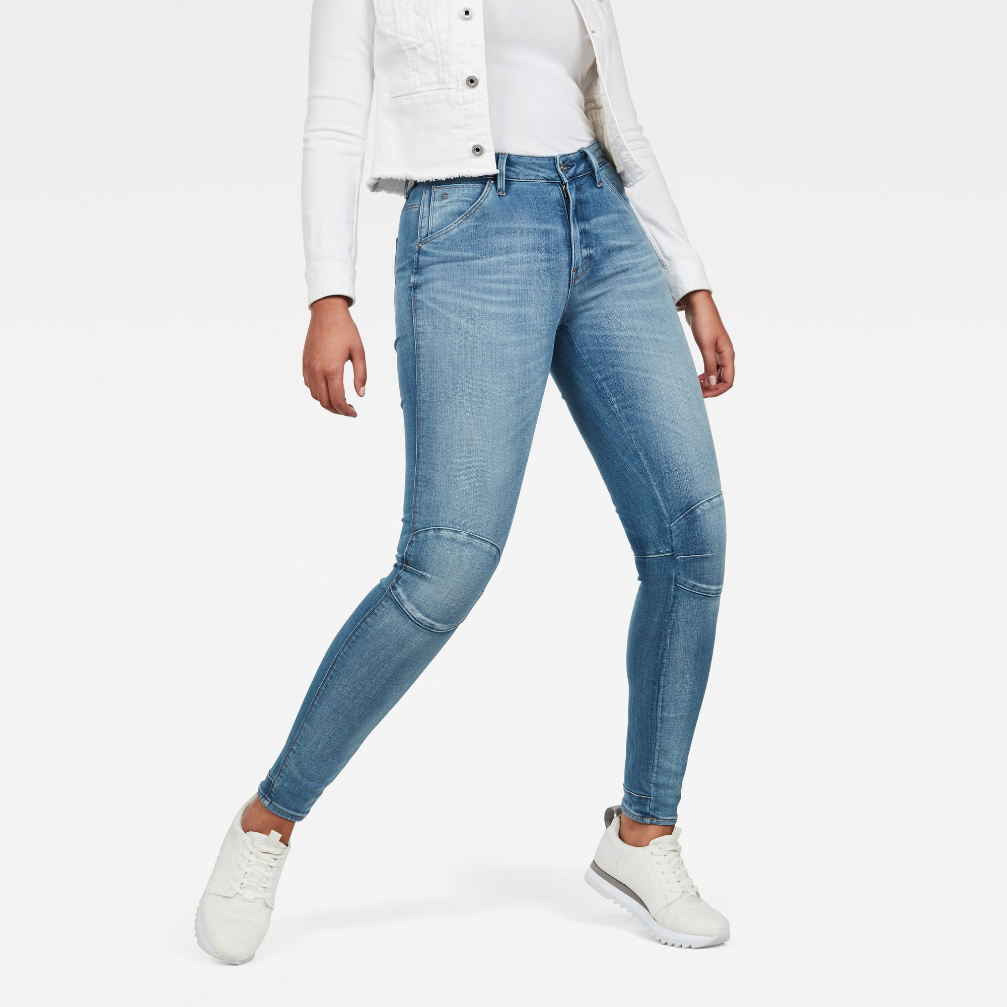 Image of G Star Raw 5622 G-Star Shape High Waist Super Skinny Jeans