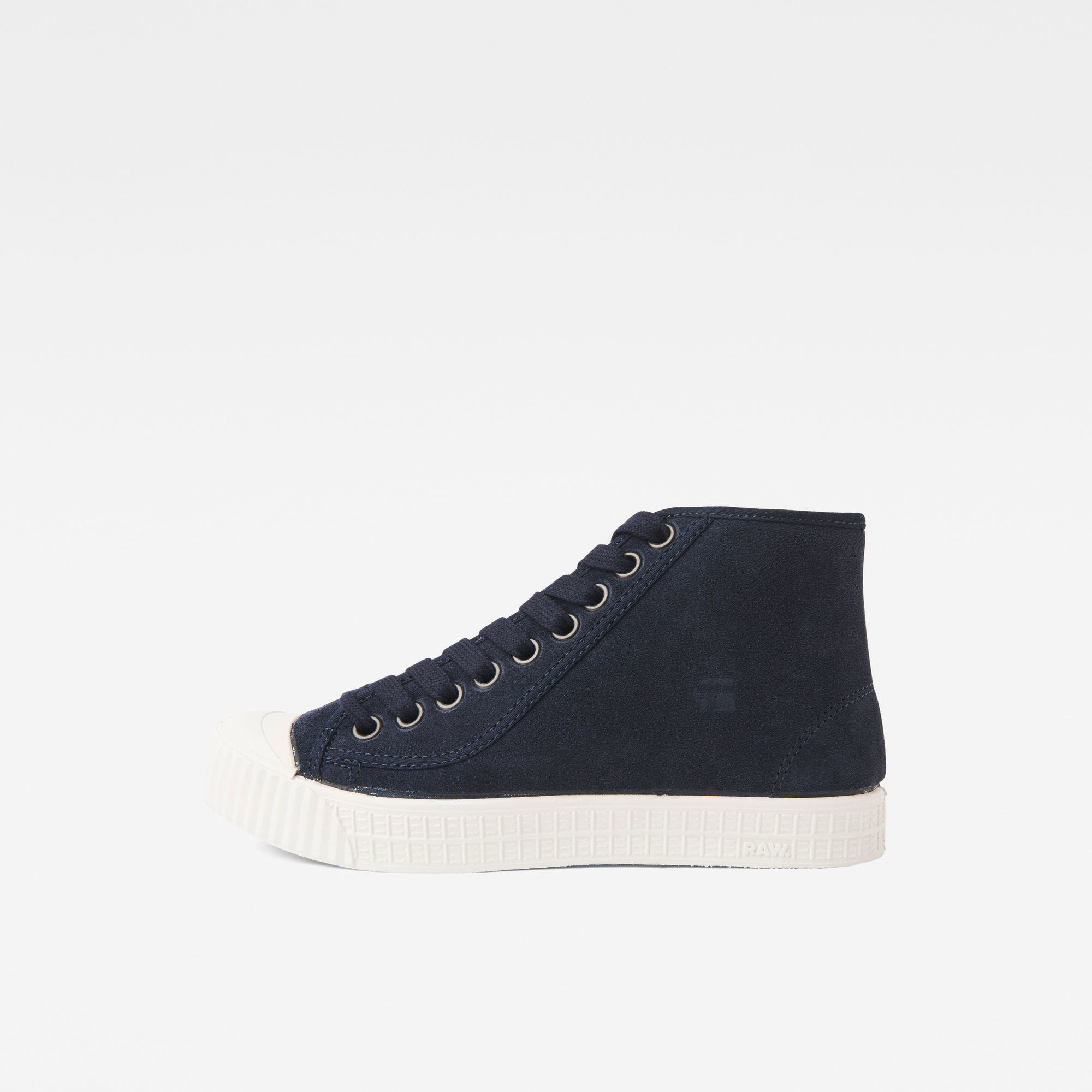 Image of G Star Raw Rovulc Suede Mid Sneakers