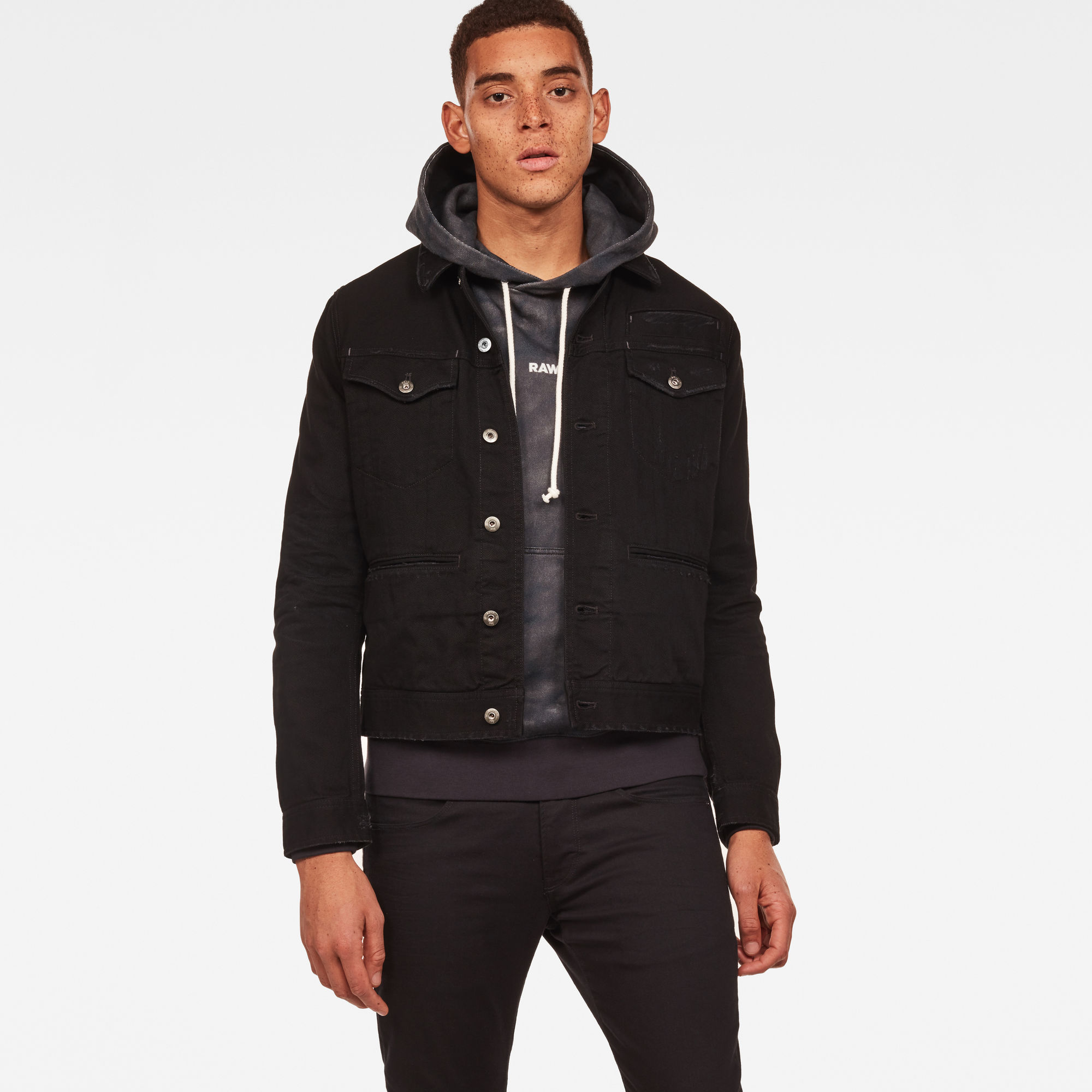Image of G Star Raw D-Staq RFTP Eclipse 3D Deconstructed Jacket