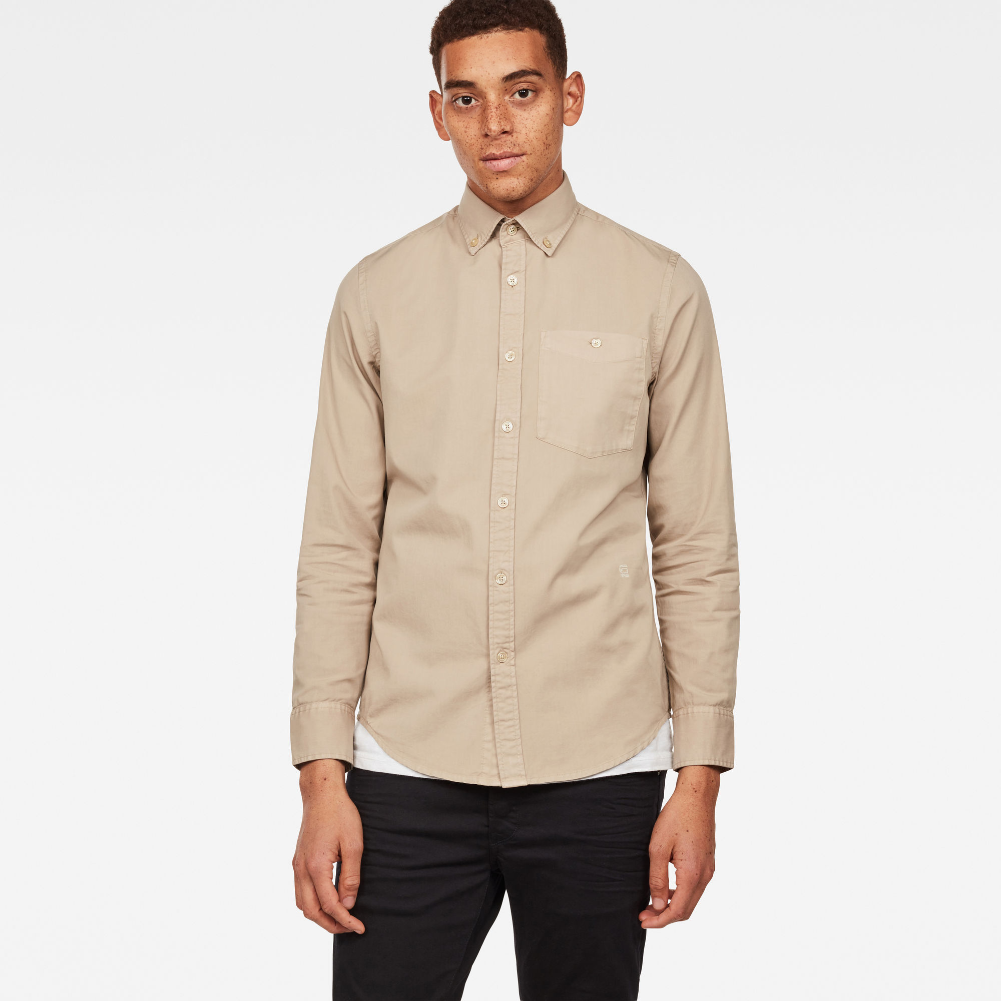 Image of G Star Raw Core Button Down Slim Shirt