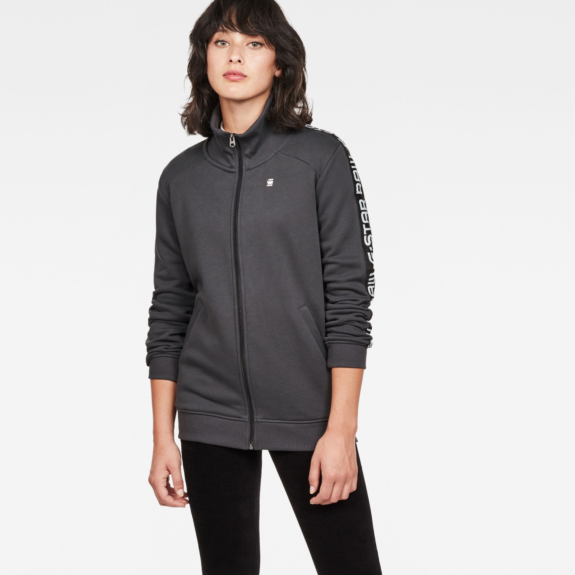 Image of G Star Raw Satur Straight Zip Sweat