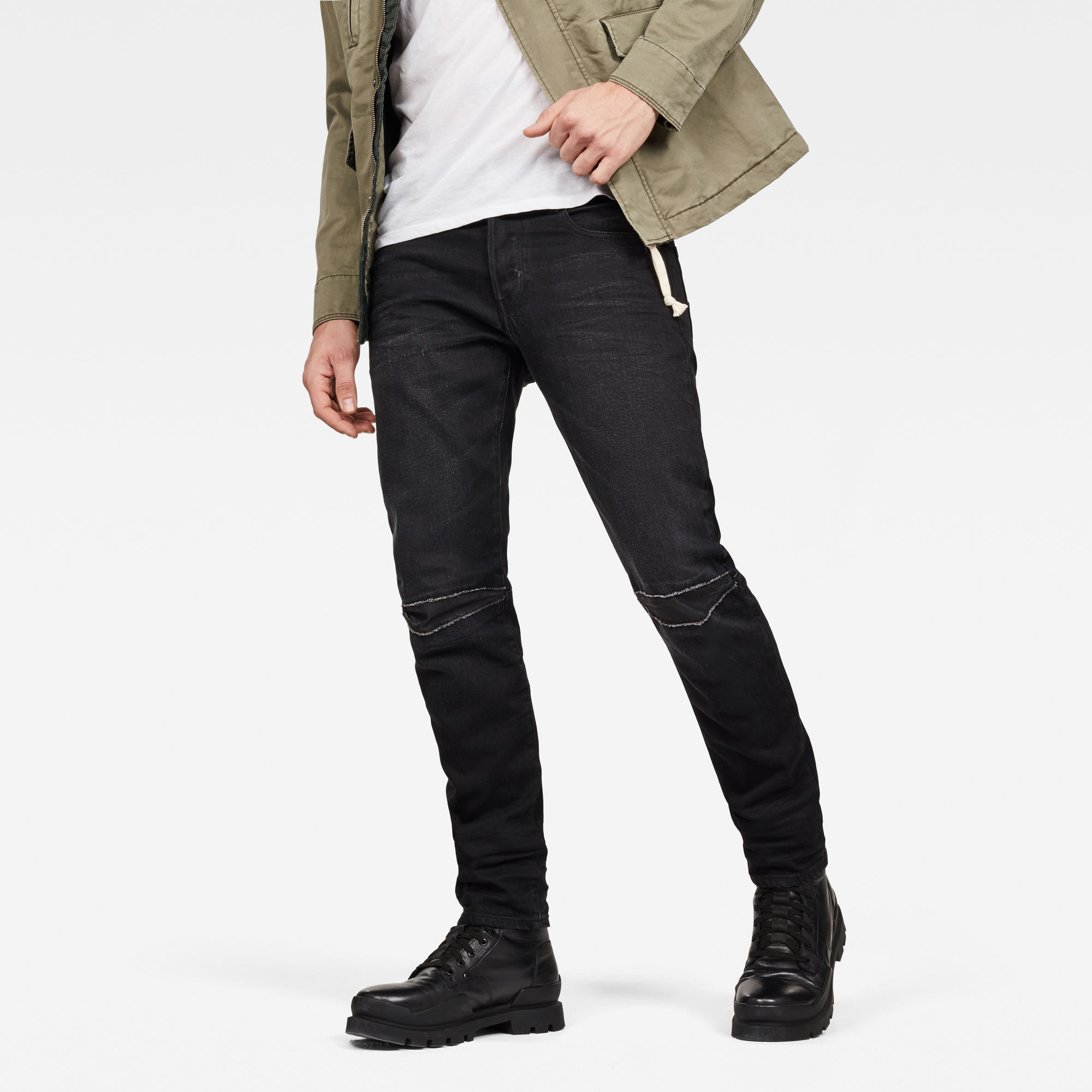Image of G Star Raw 3301 Slim 3D Restored Jeans