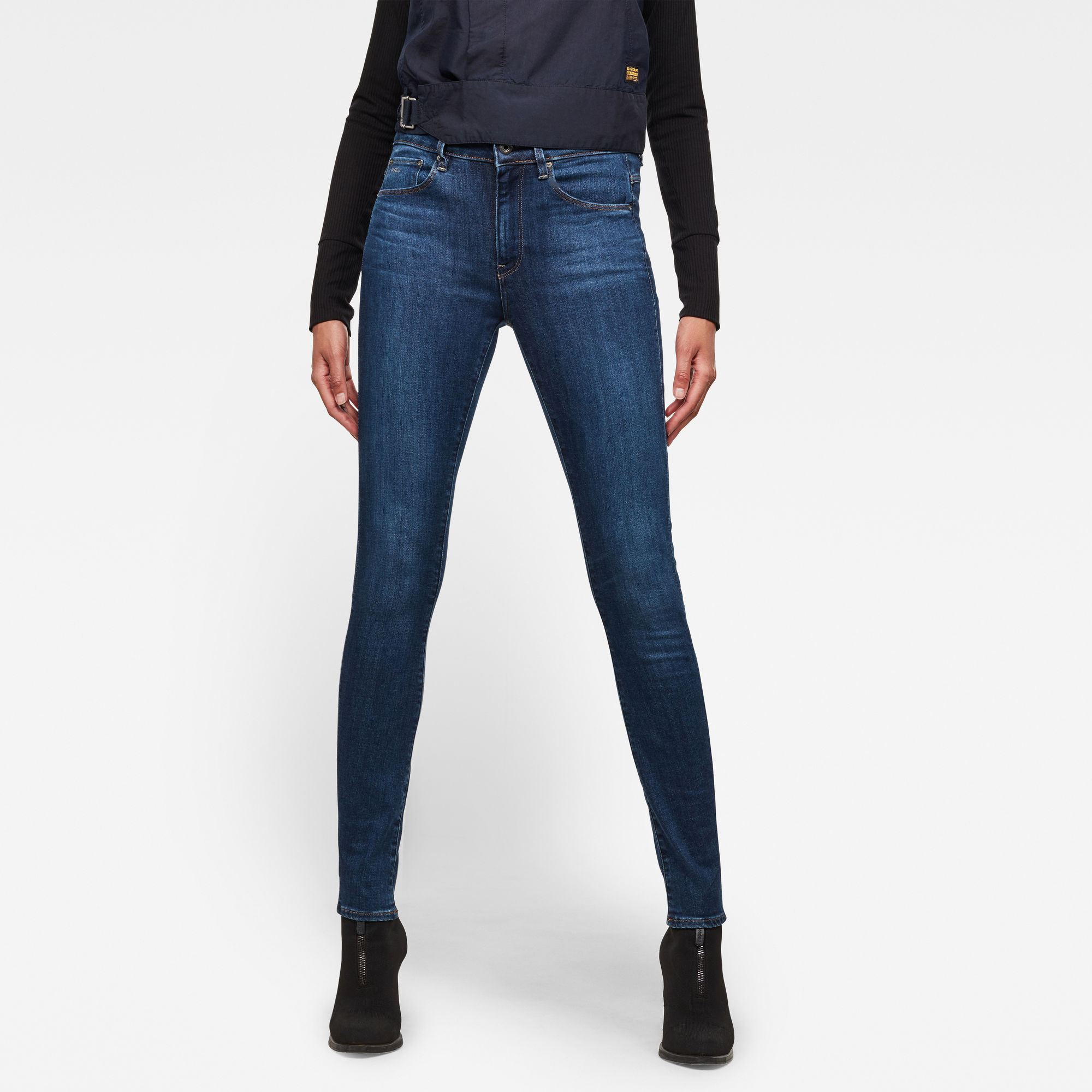 Image of 3301 High Waist Skinny Jeans