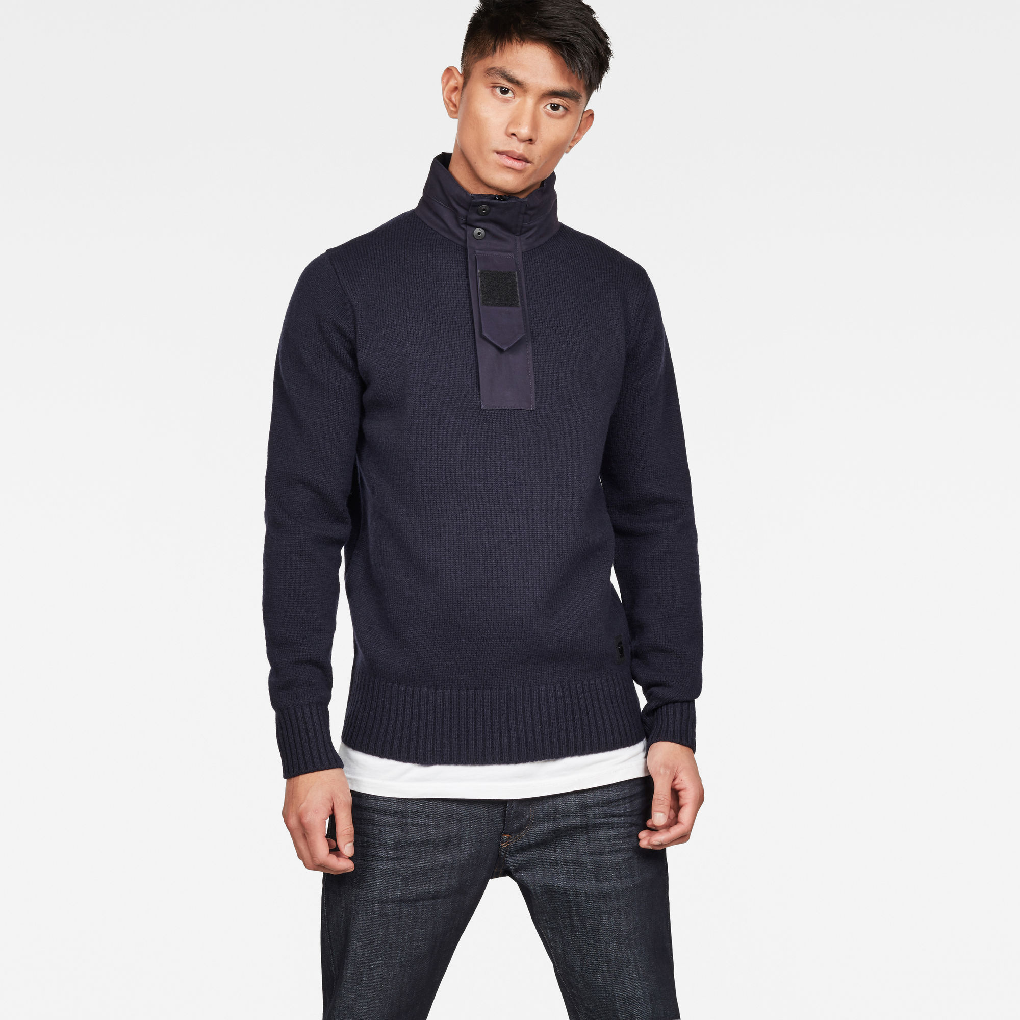 Image of G Star Raw Bantson Zip Knit