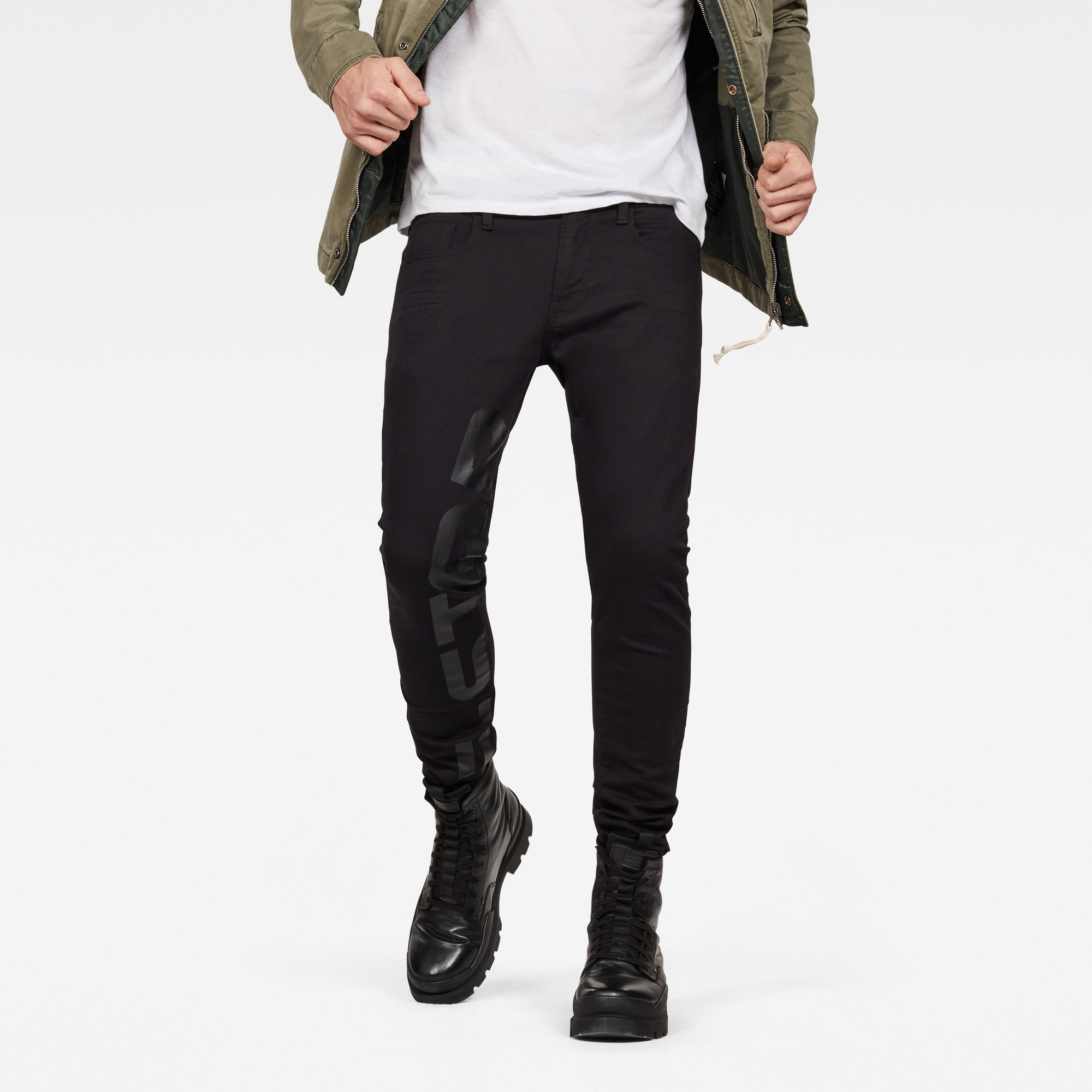 3301 Deconstructed Skinny Art Jeans