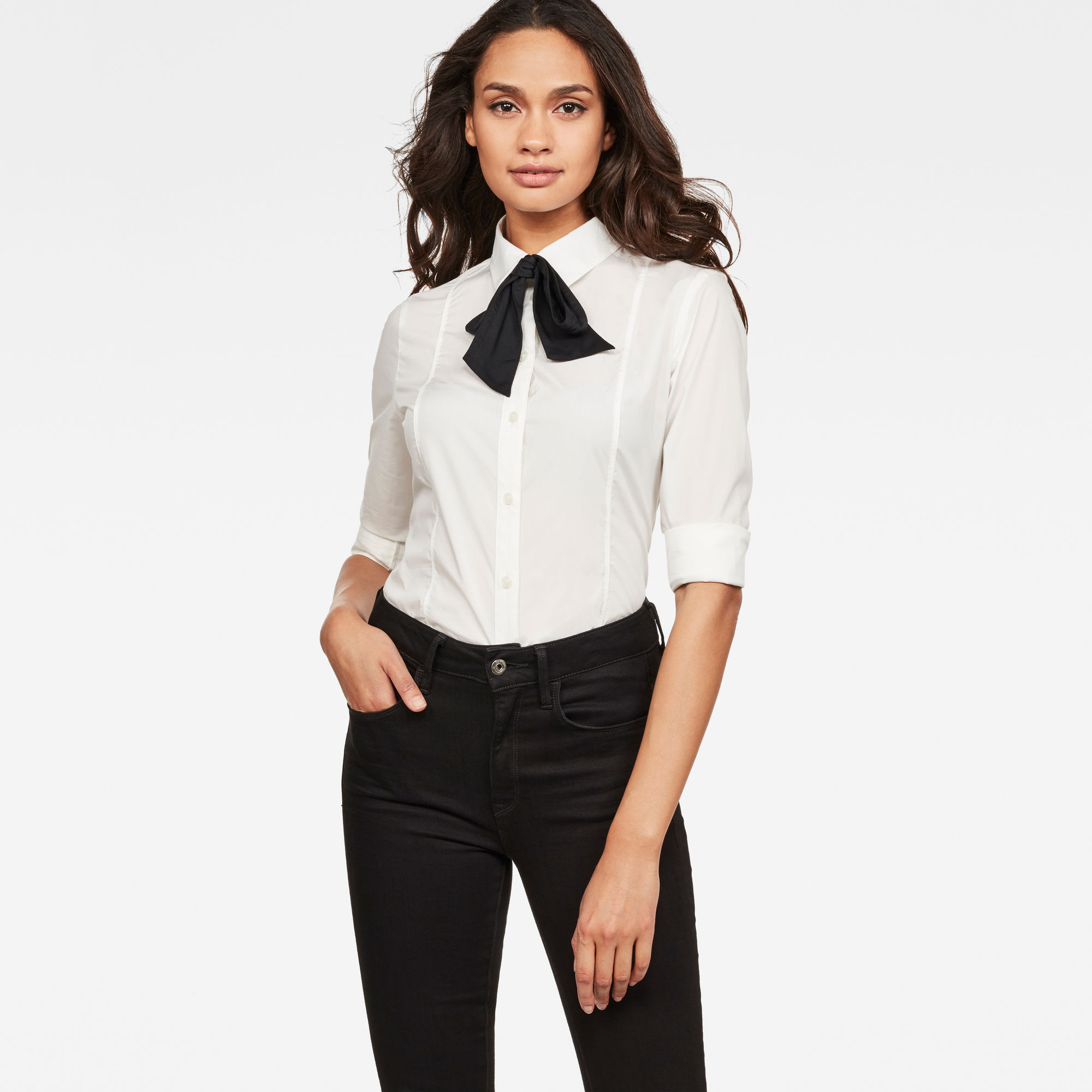 Image of G Star Raw Core Bow Slim Shirt
