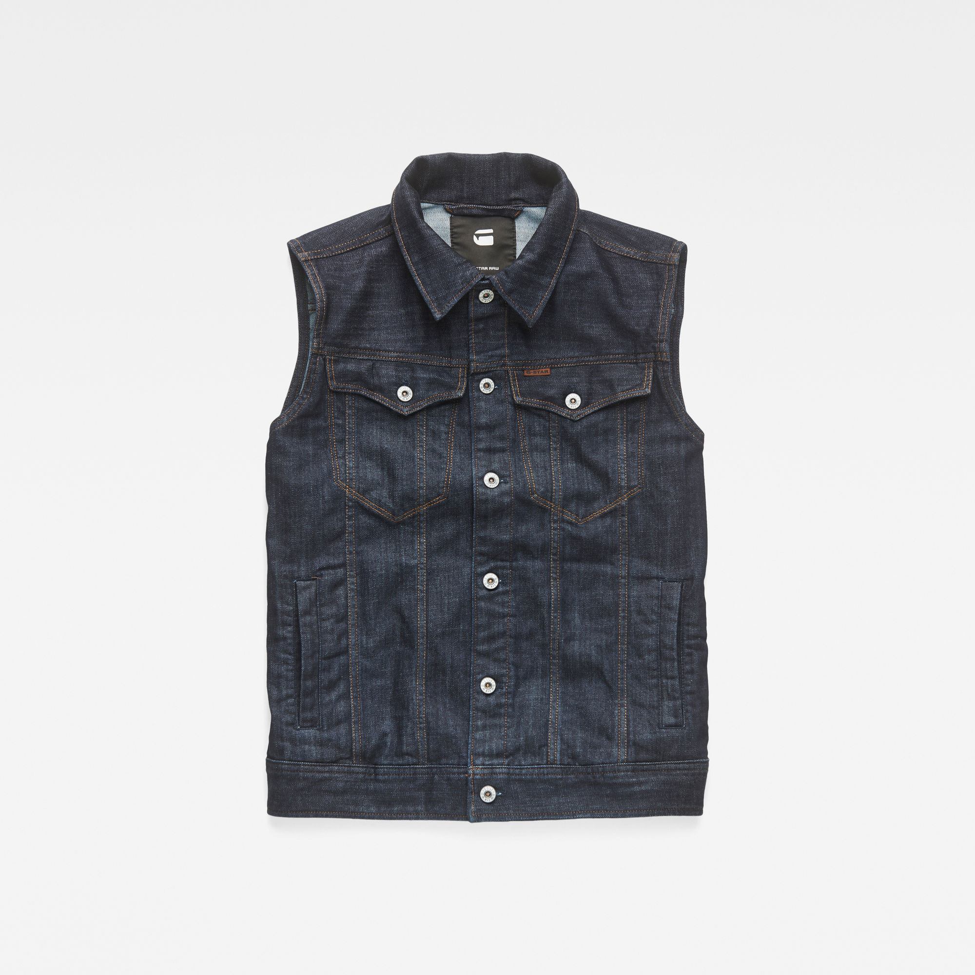 3301 3D Sleeveless Slim Jacket