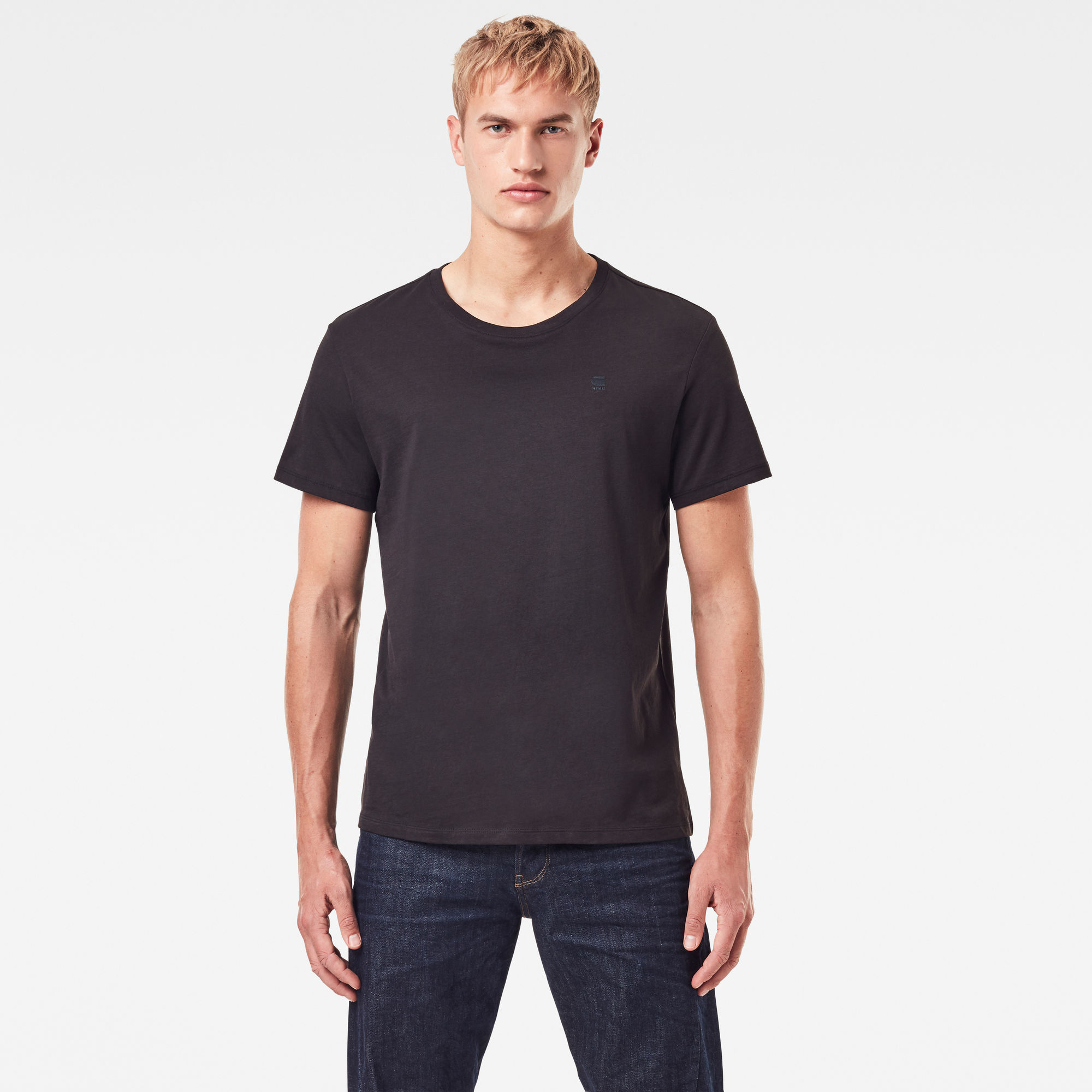 Image of G Star Raw Base Heather T-Shirt 2-Pack