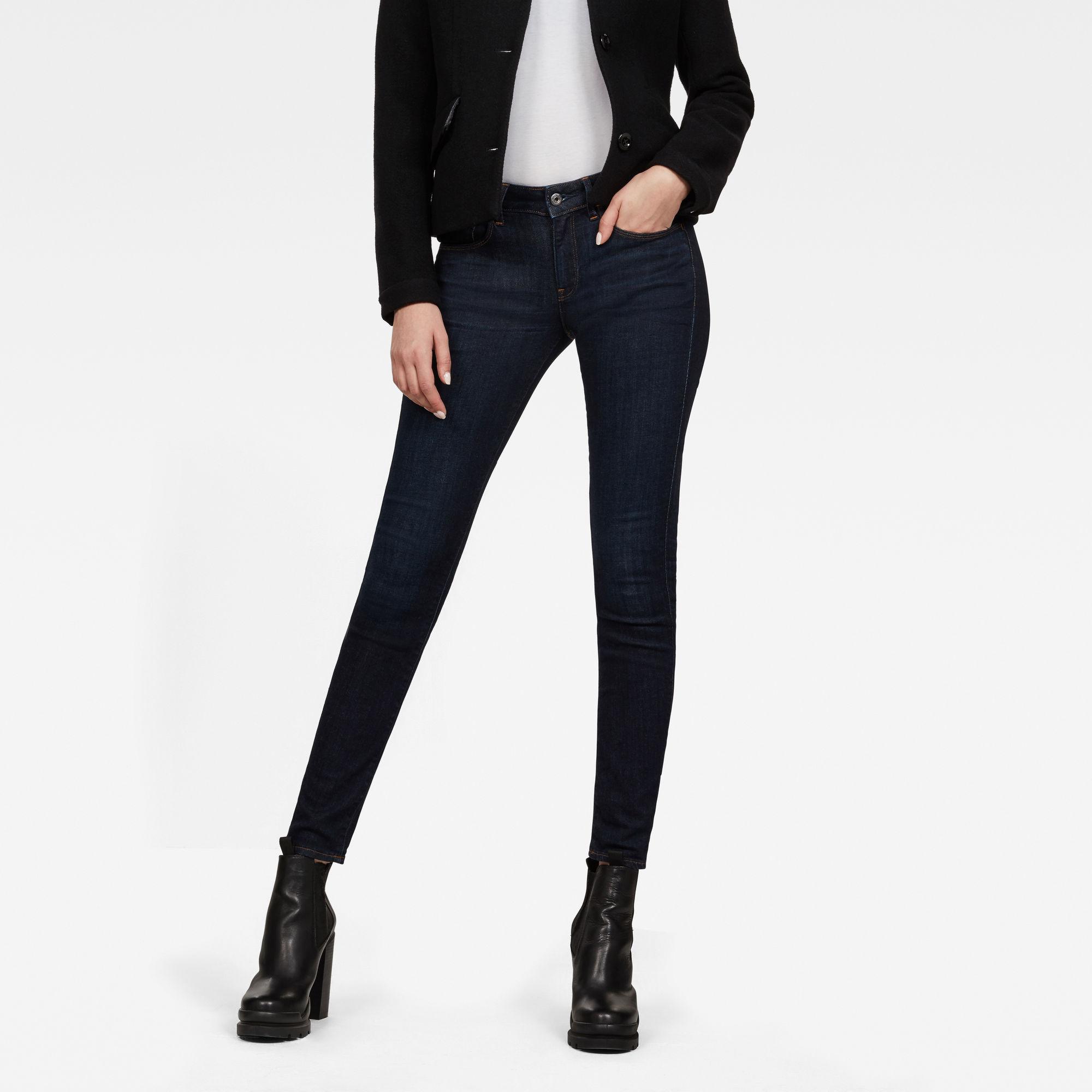 3301 Deconstructed Mid Waist Skinny Jeans Jeans maat 24-28 van G-Star RAW snel en voordelig in huis? Hier lukt het direct