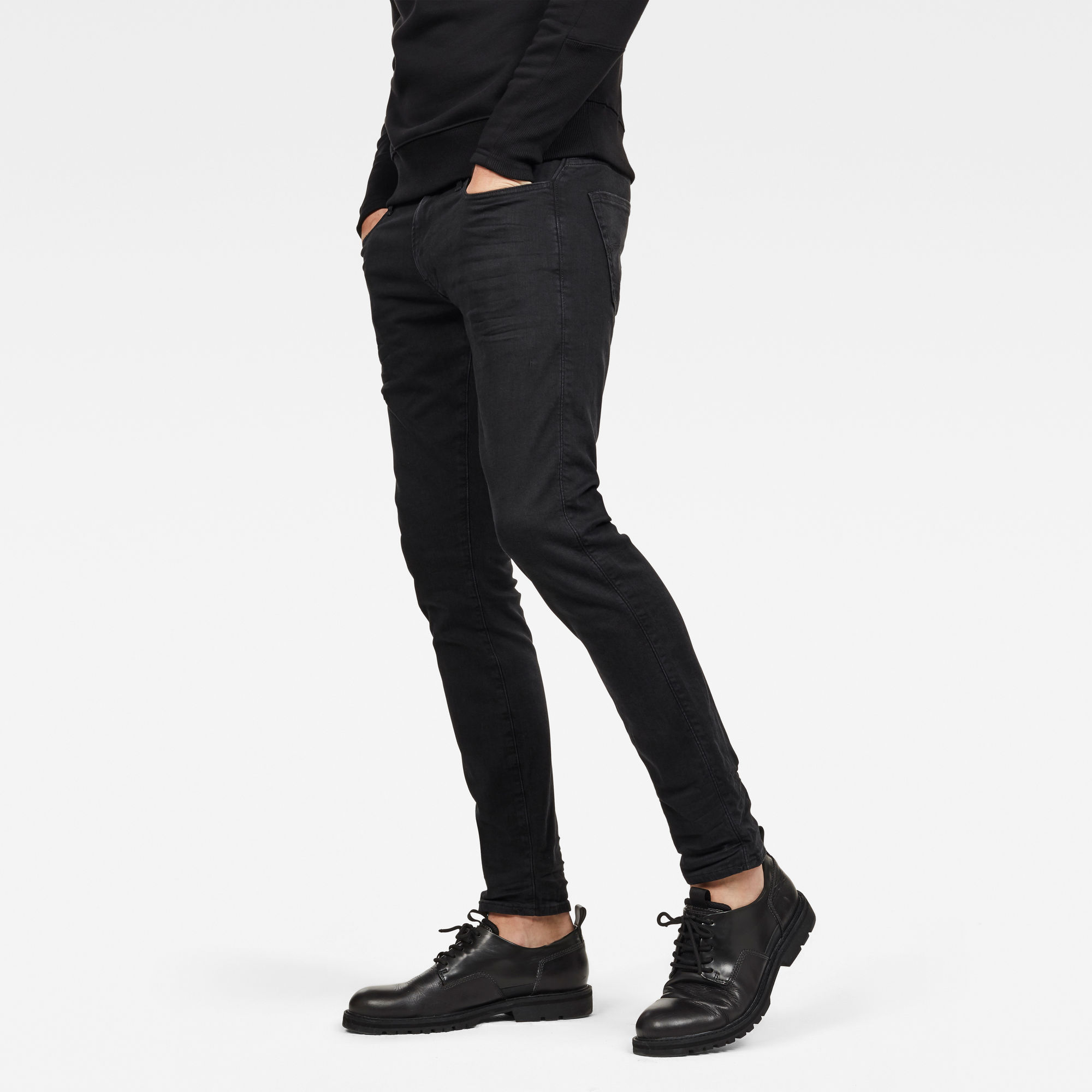 Image of G Star Raw 3301 Deconstructed Skinny Jeans