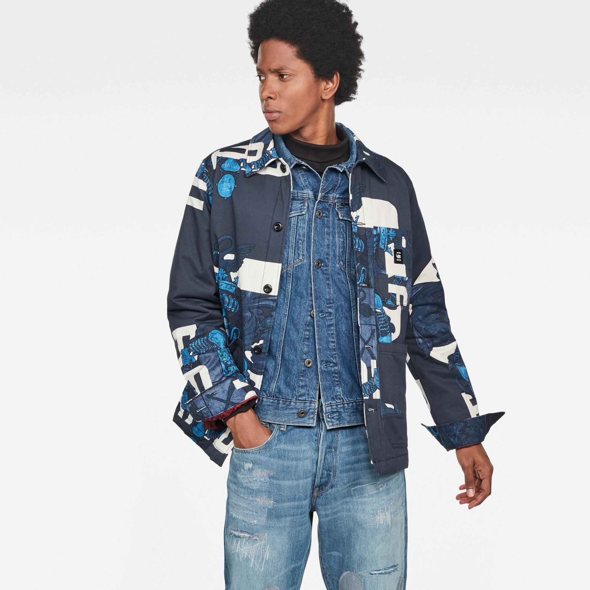 Image of G Star Raw Blake Padded Jacket
