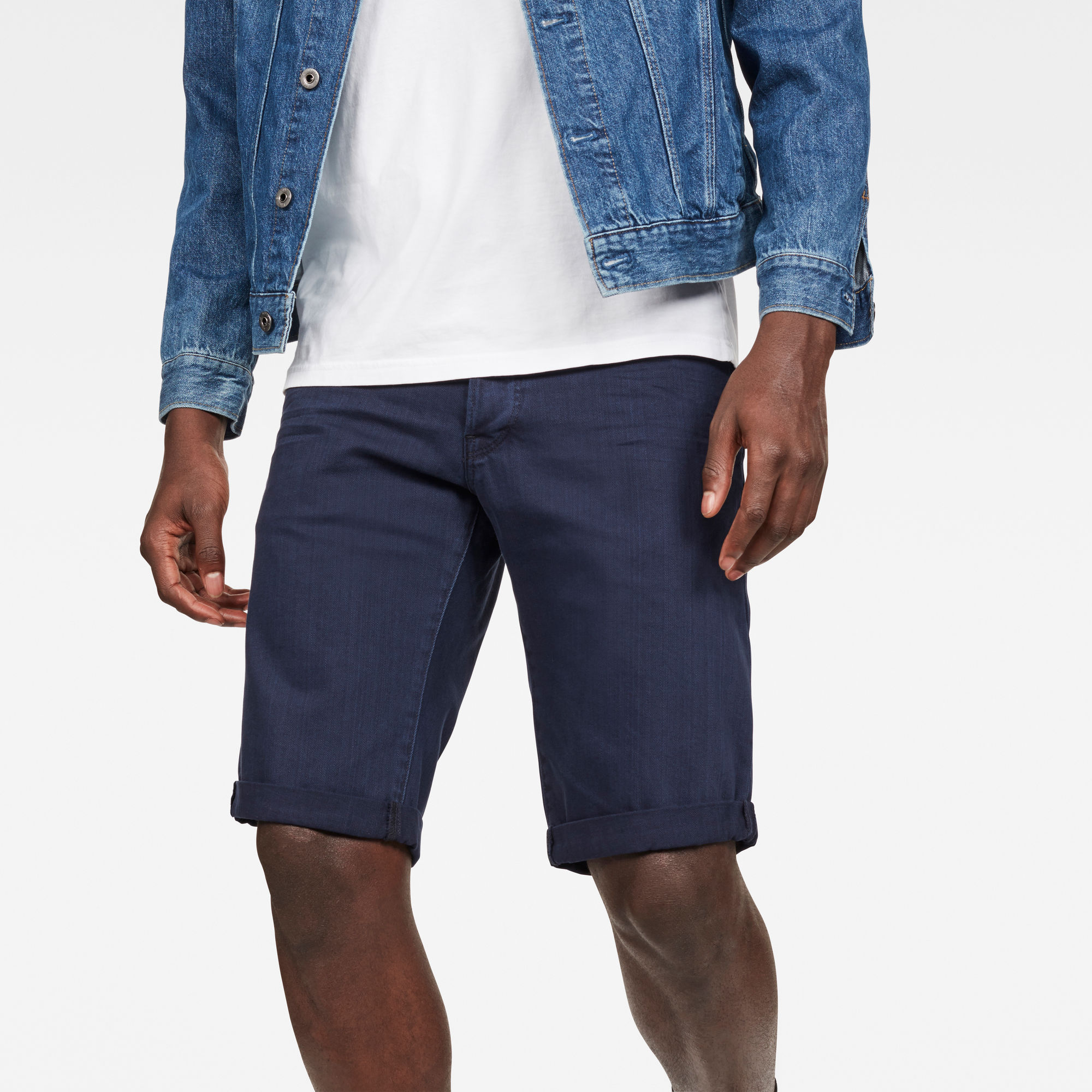 Image of G Star Raw 3301 1\2 Shorts