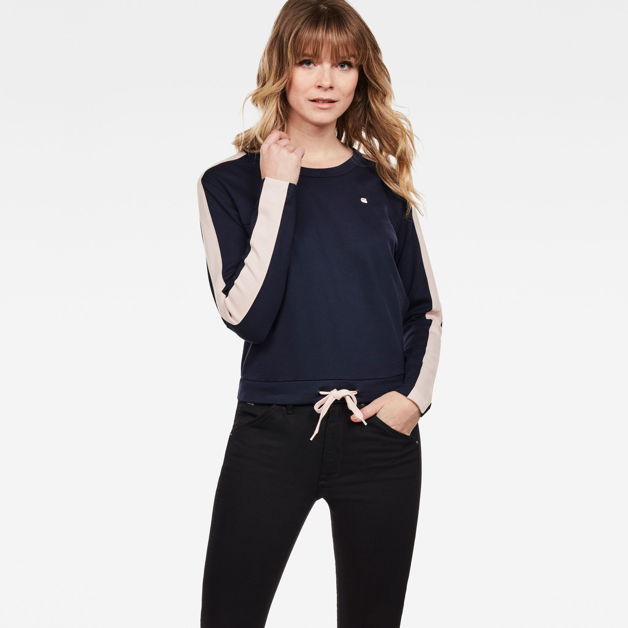 Image of G Star Raw Nostelle Cropped Sweat