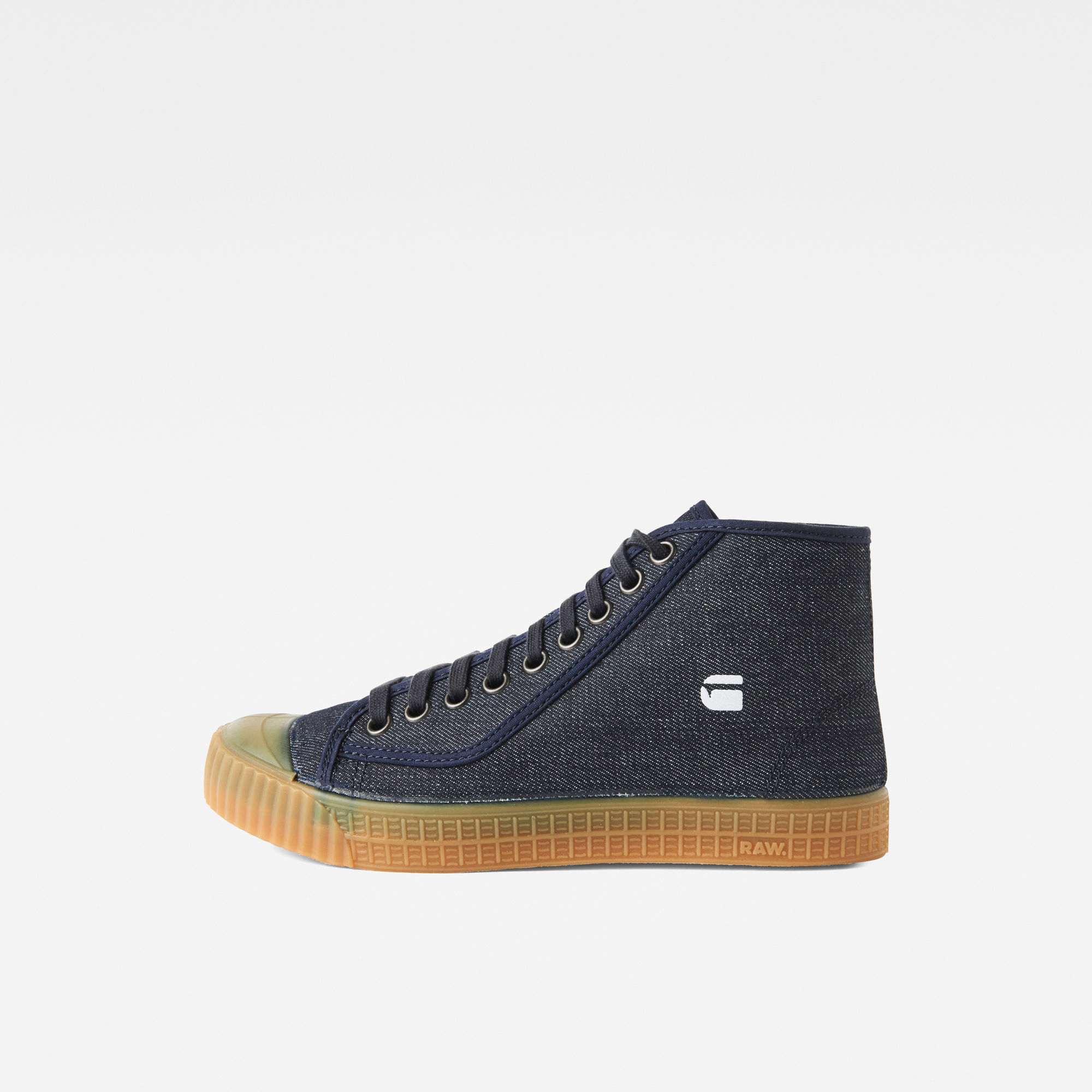 Image of G Star Raw Rovulc Denim Mid Sneakers