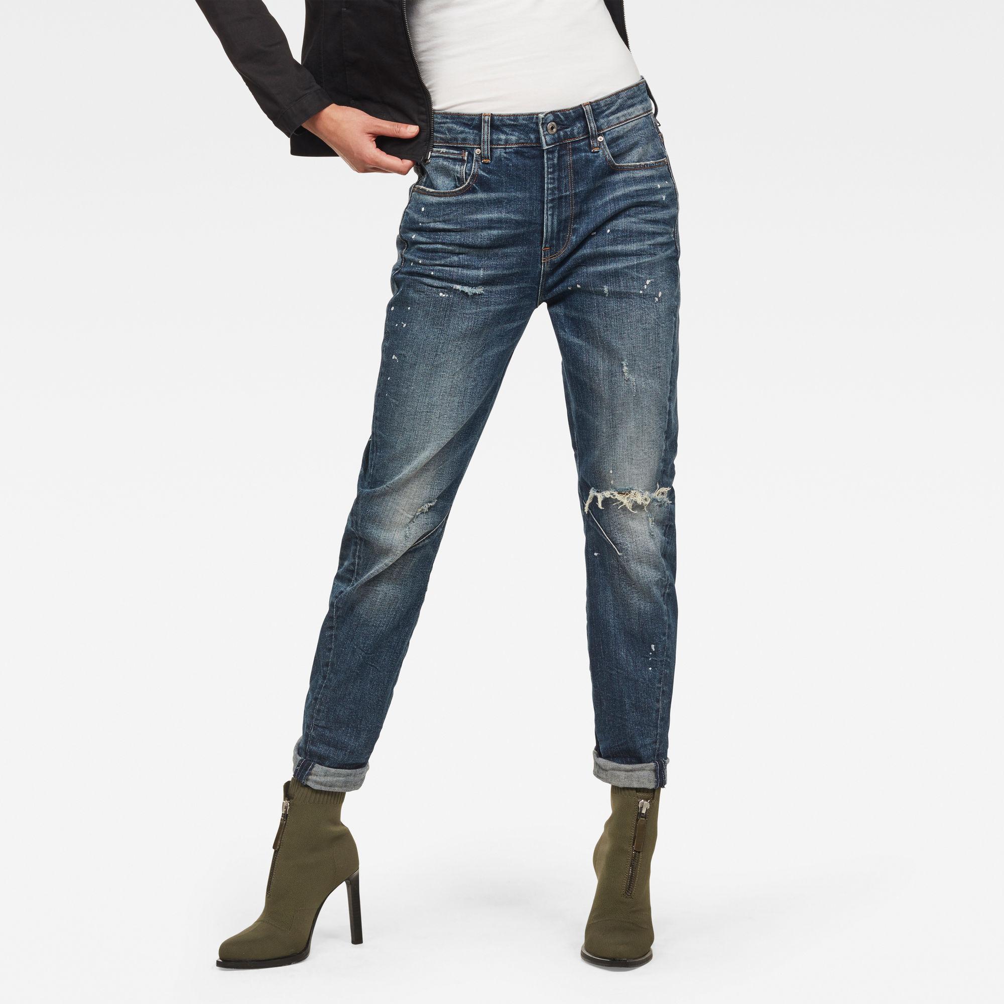 Image of G Star Raw Arc 2.0 3D Mid Waist Boyfriend Jeans