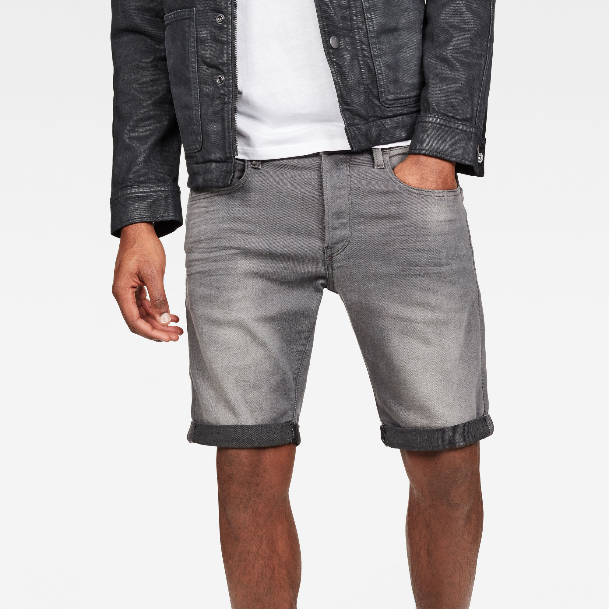 3301 Slim 1\2-Length Shorts
