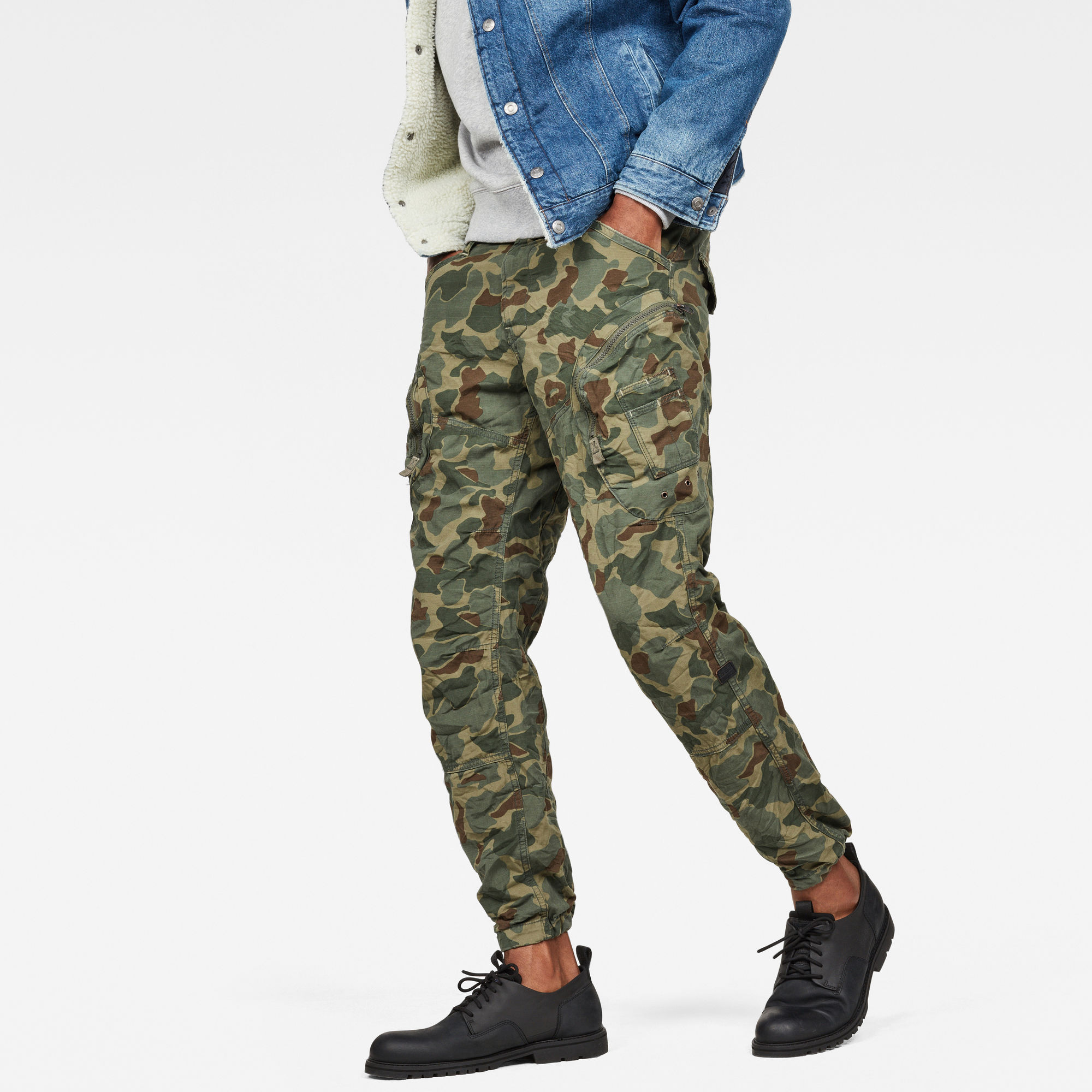 Image of G Star Raw Rovic Airforce Relaxed Trousers