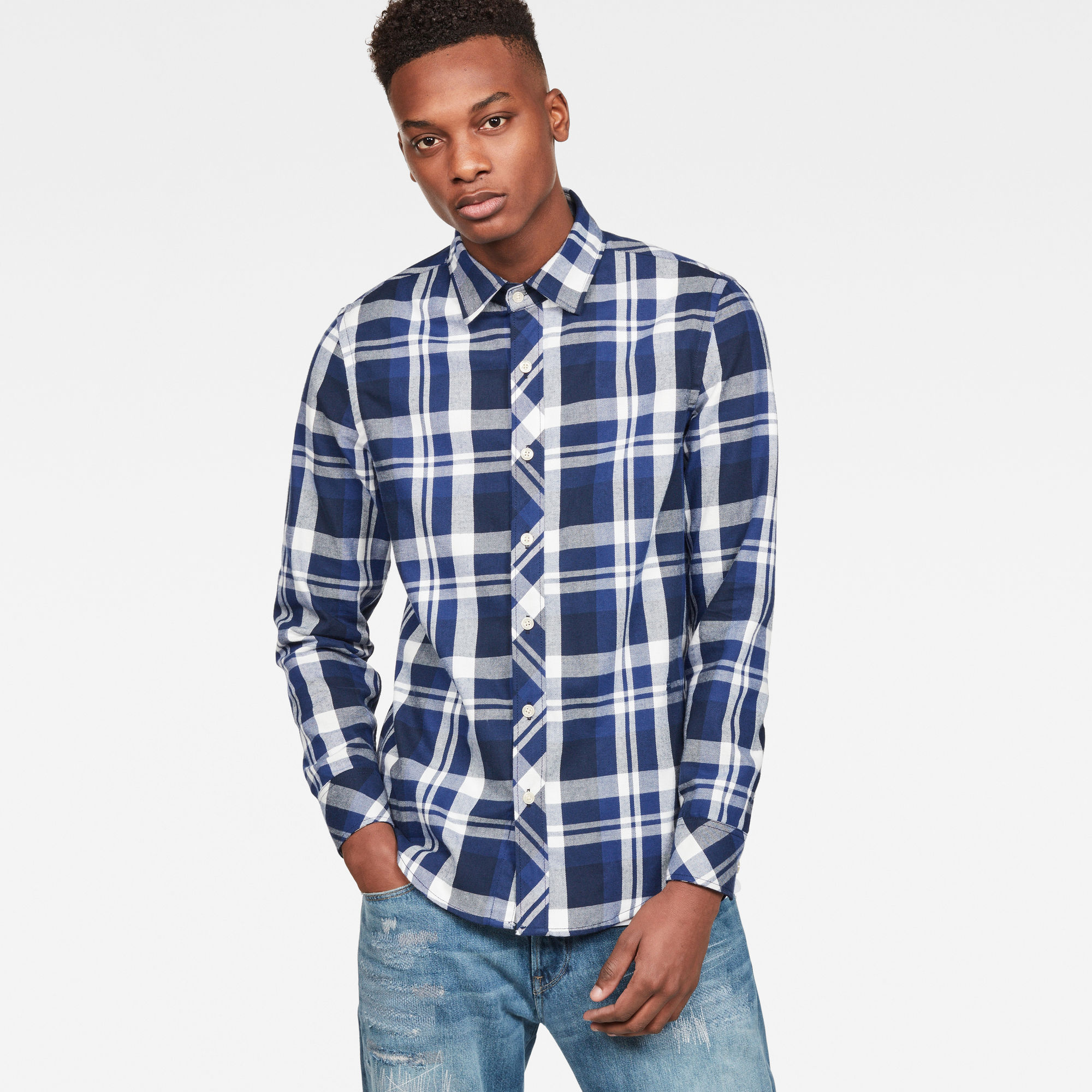 Image of G Star Raw Bristum Slim Shirt