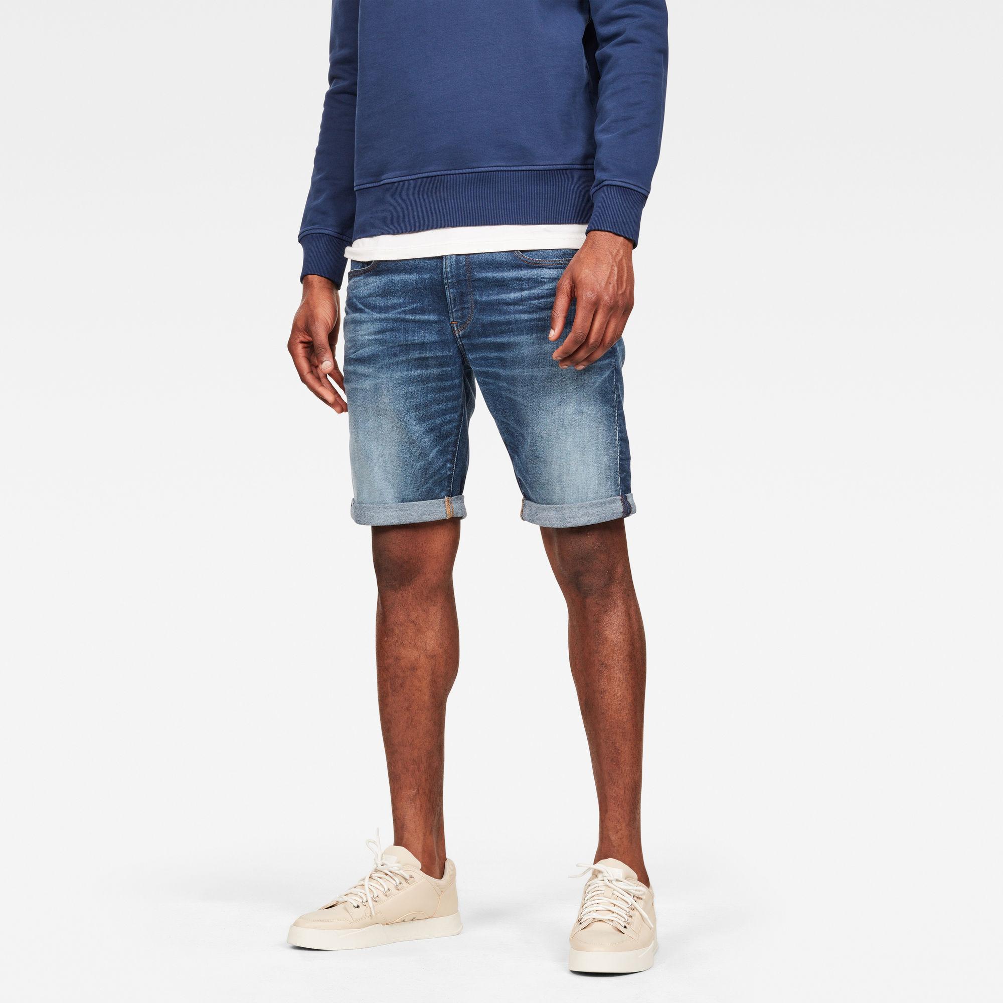 Image of G Star Raw 3301 Slim 1\2 Shorts