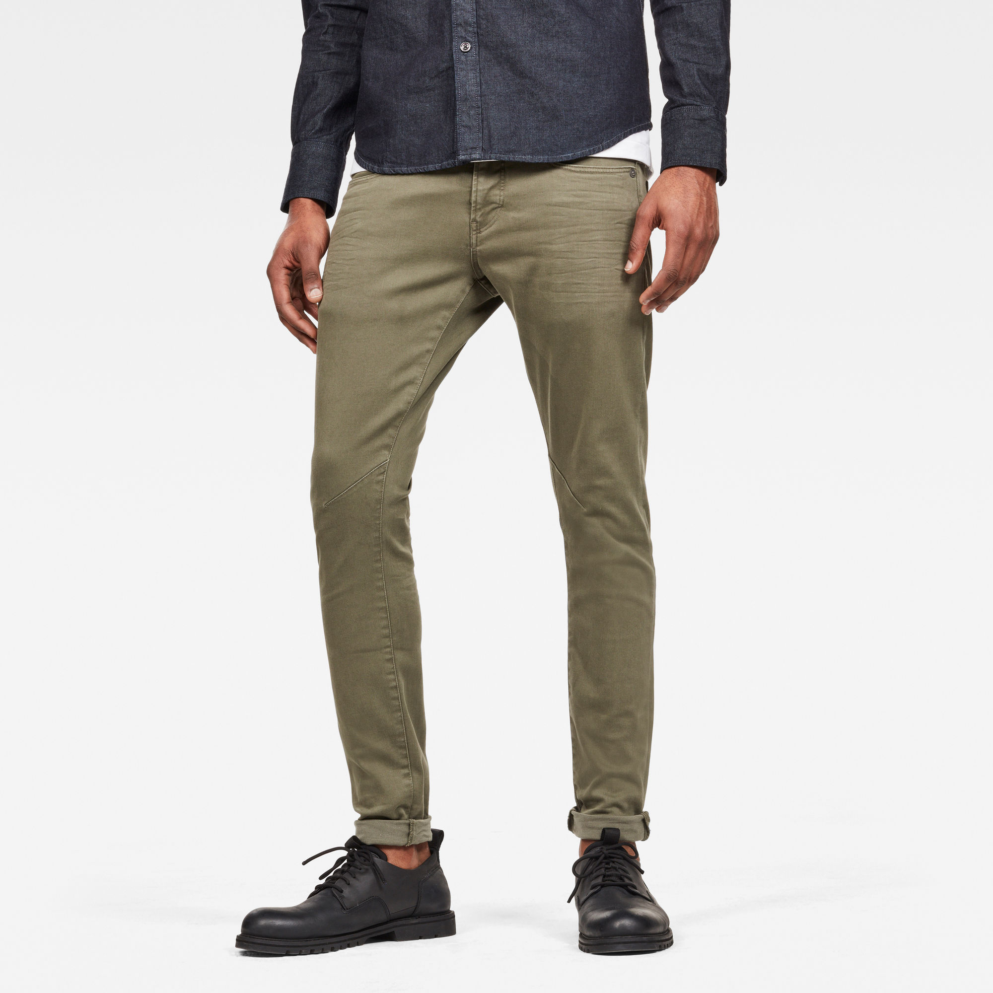 Image of G Star Raw D-Staq 5-Pocket Skinny Colored Jeans