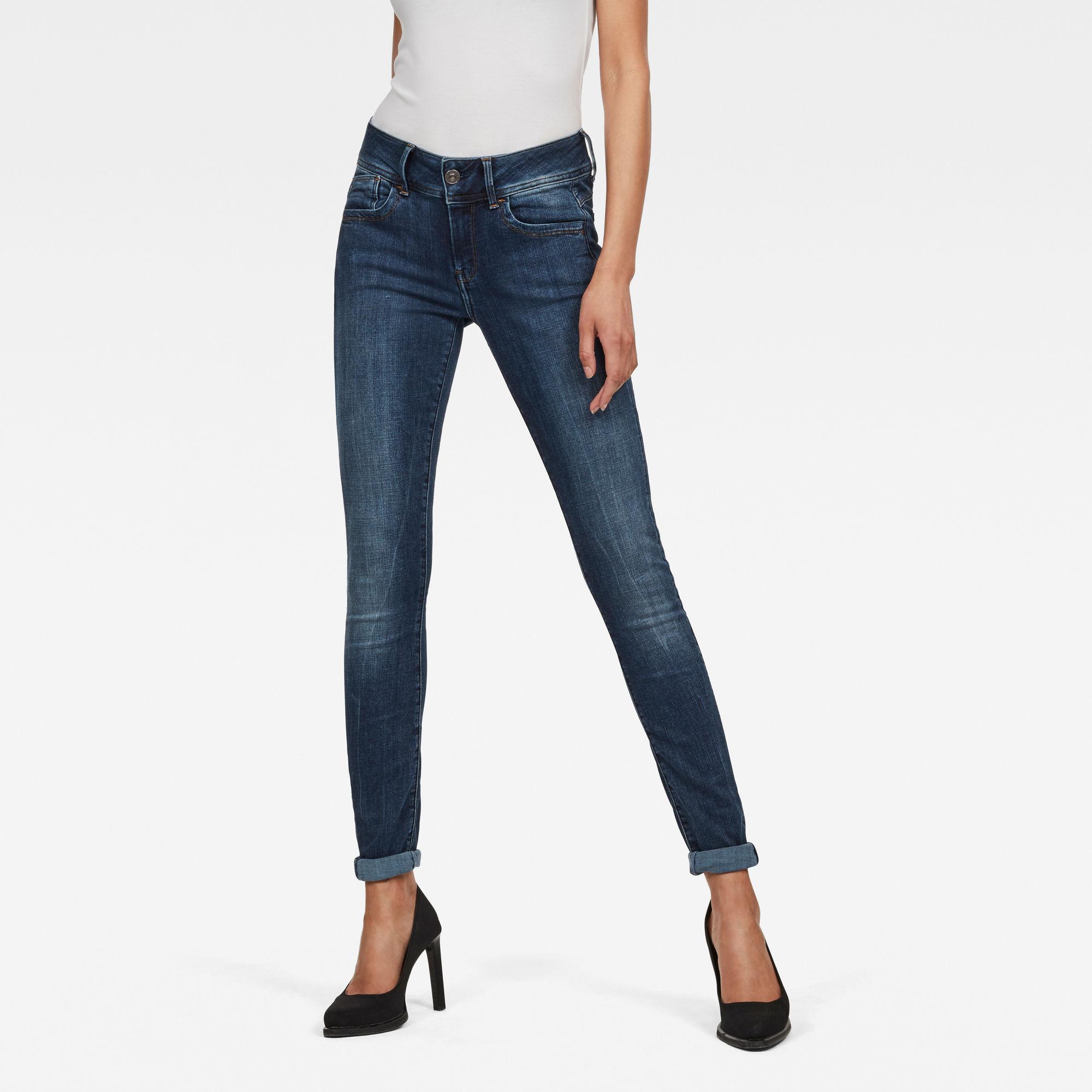 Image of G Star Raw Lynn D-Mid Waist Super SkinnyJeans