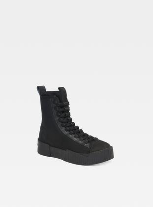 RACKAM SCUBA II MID - Sneaker high - black