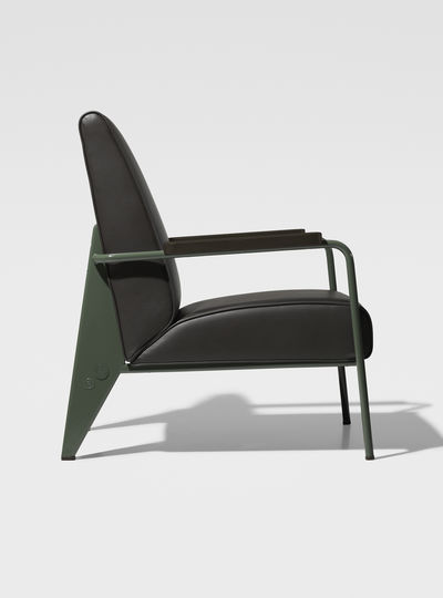 Prouv_ RAW Office Edition Fauteuil de Salon Haut 1939 (glides for hard floors)