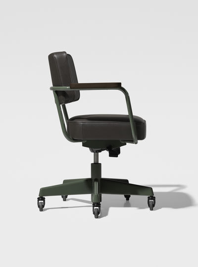 Prouv_ RAW Office Edition Fauteuil Direction Pivotant - Cuir 1951