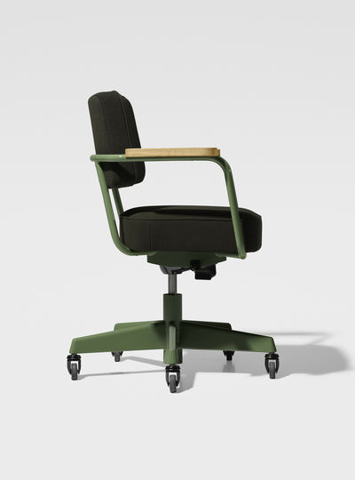 Prouv_ RAW Office Edition Fauteuil Direction Pivotant - Tissu 1951