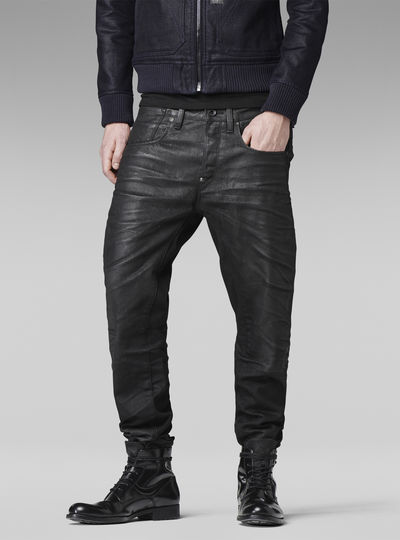 A-Crotch Tapered Jeans
