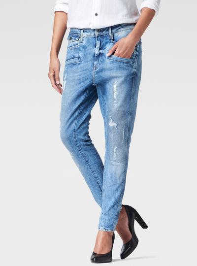 Davin 3D Low Waist Boyfriend Jeans