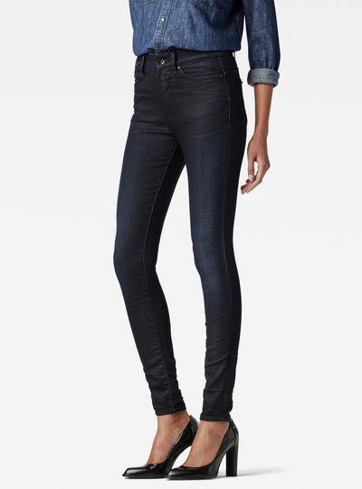 Midge Zip Ultra High Super Skinny Jeans