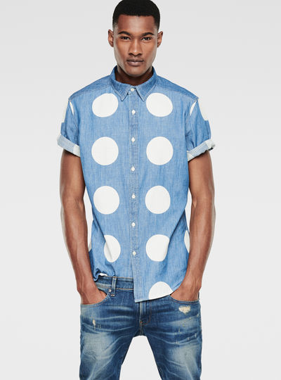 Landoh Dotted Shirt