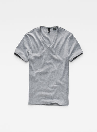 Base V-Neck Slim T-Shirt 2-pack