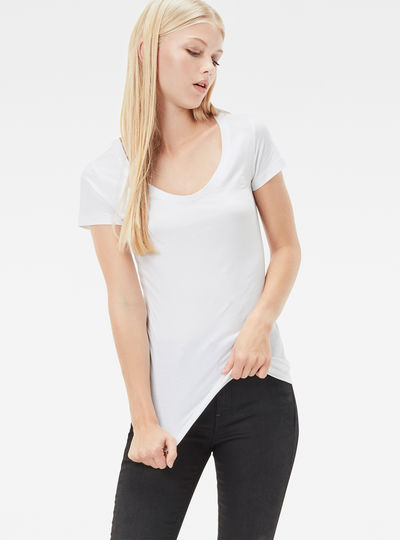 Base Slim Cap-Sleeve T-Shirt