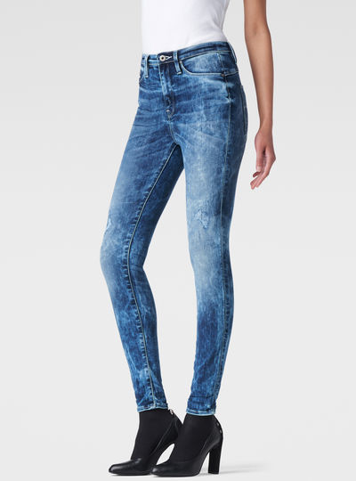 Raw For The Oceans - Type C Ultra High Waist Jeans