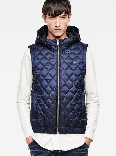 Meefic Quilted Hooded Vest